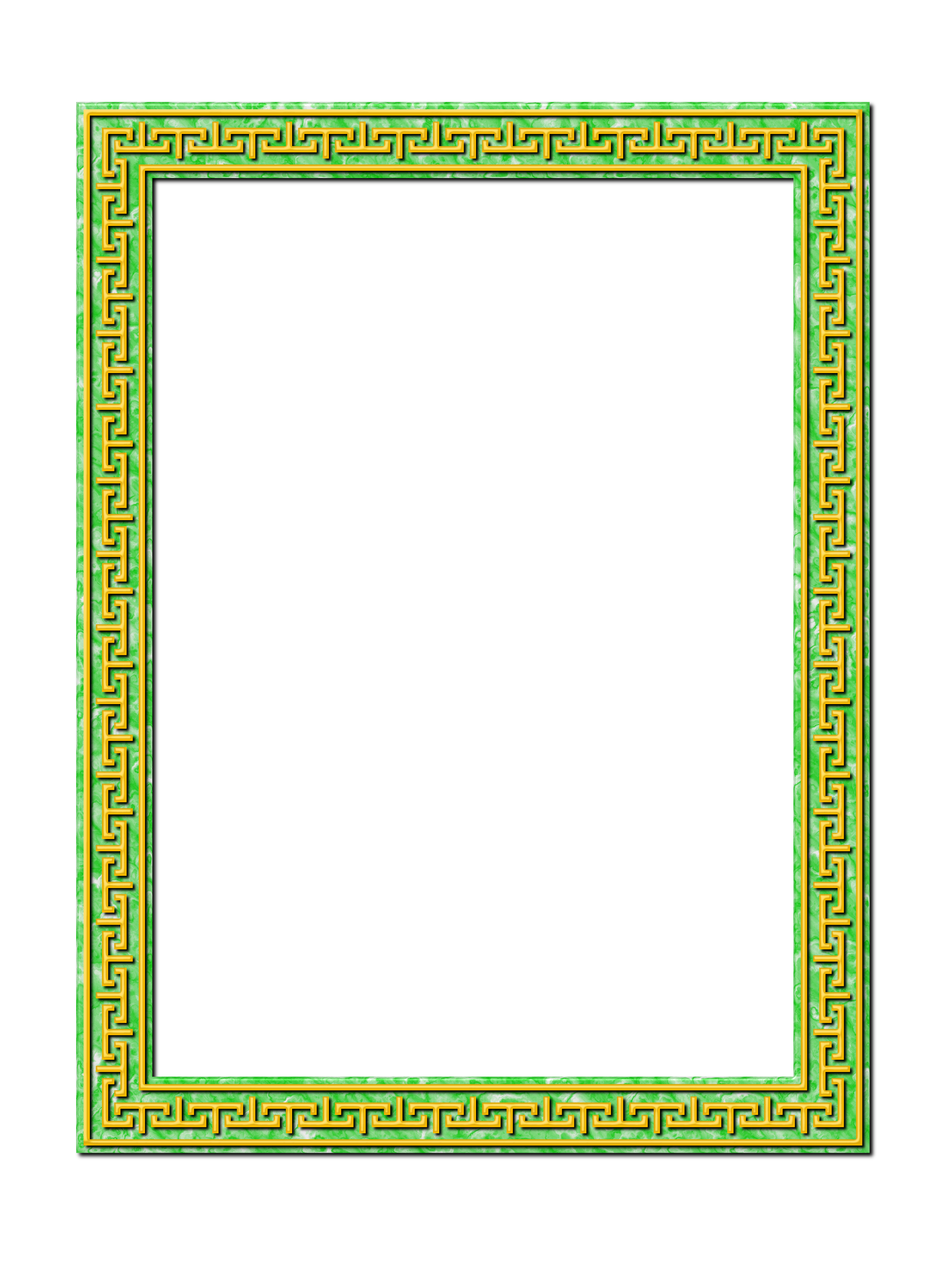 Greek-style frame 3 by Firkin