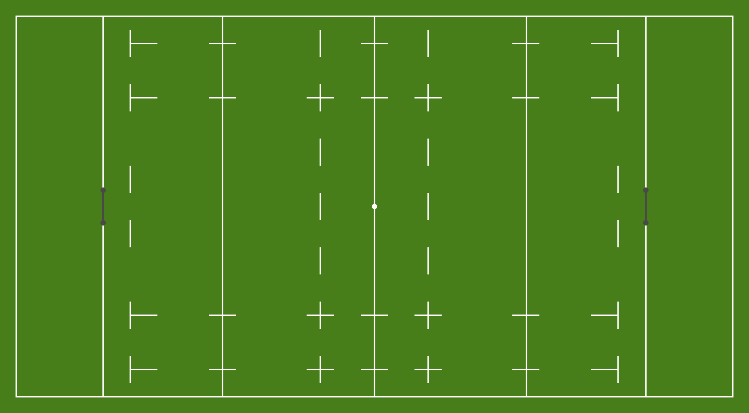 Rugby union pitch by Firkin