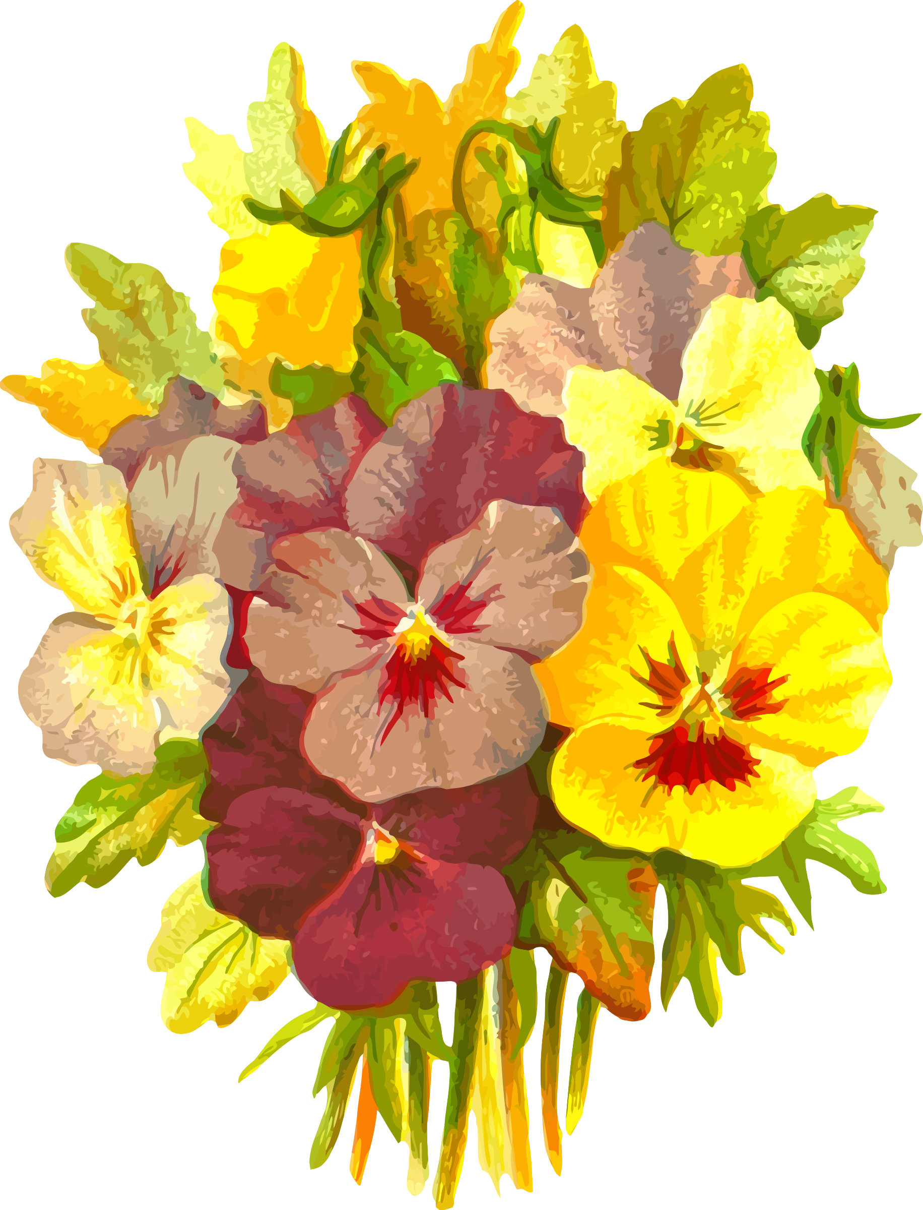 Pansies 2 by Firkin