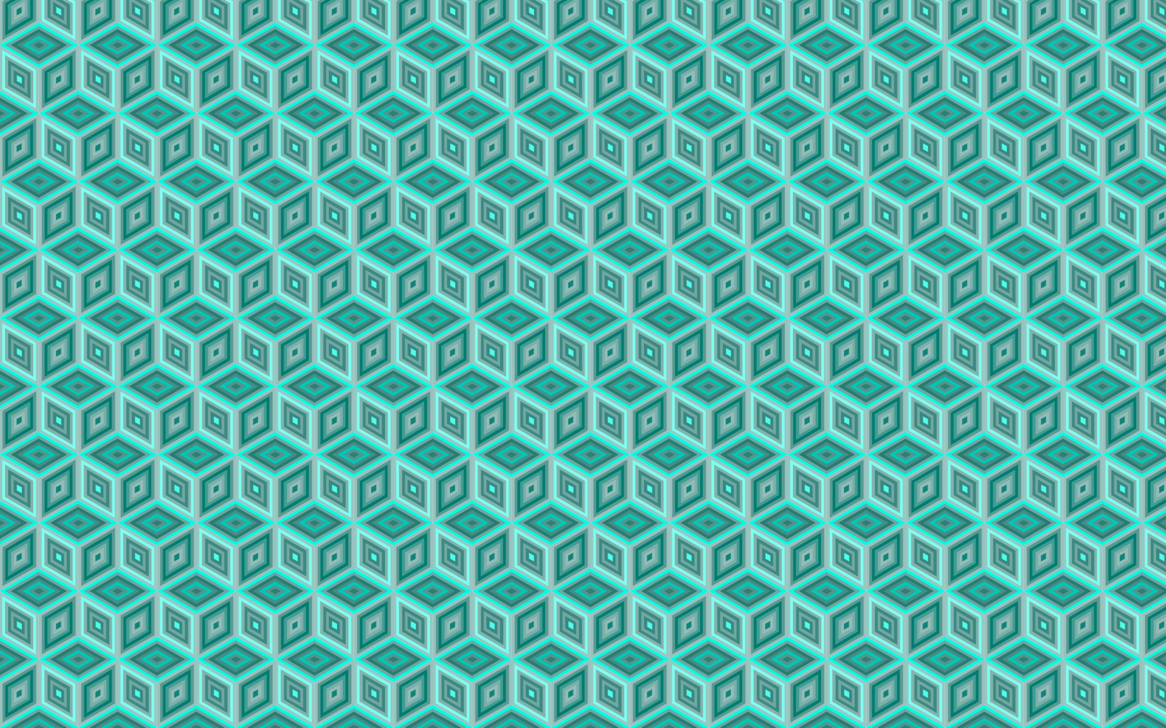 Seamless Monochromatic Isometric Cube Pattern by GDJ