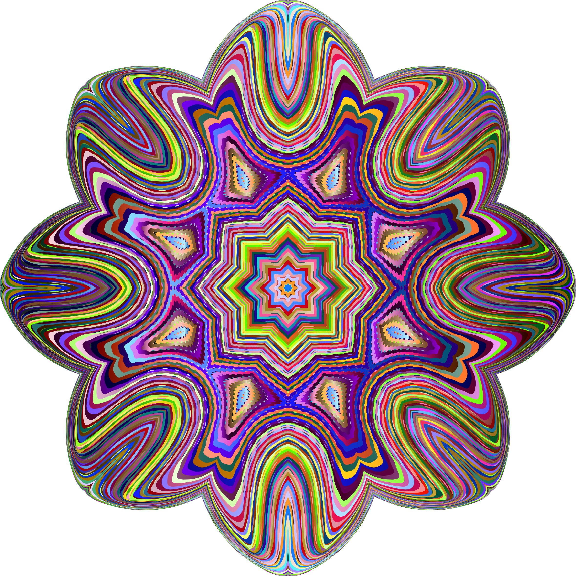 Psychedelic Geometry by GDJ