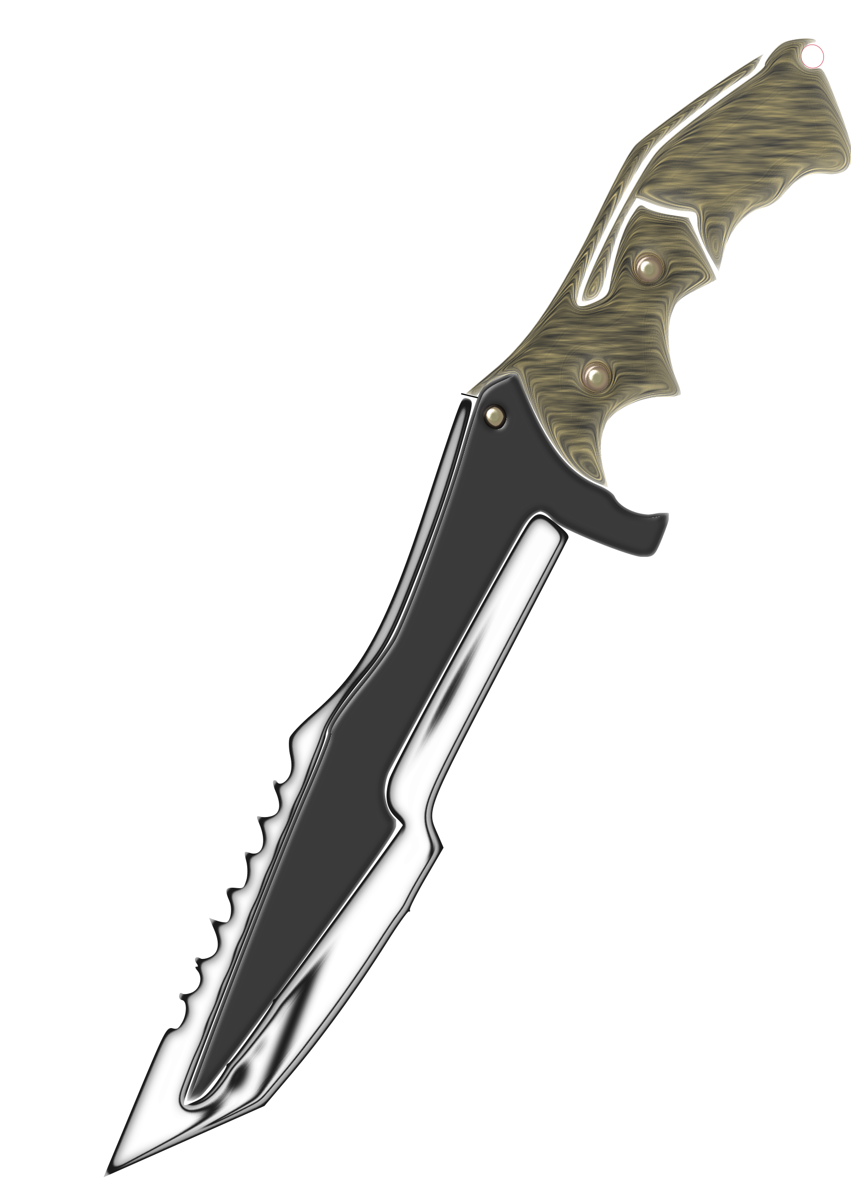 Hunter Knife by Misael.Vasconcelos