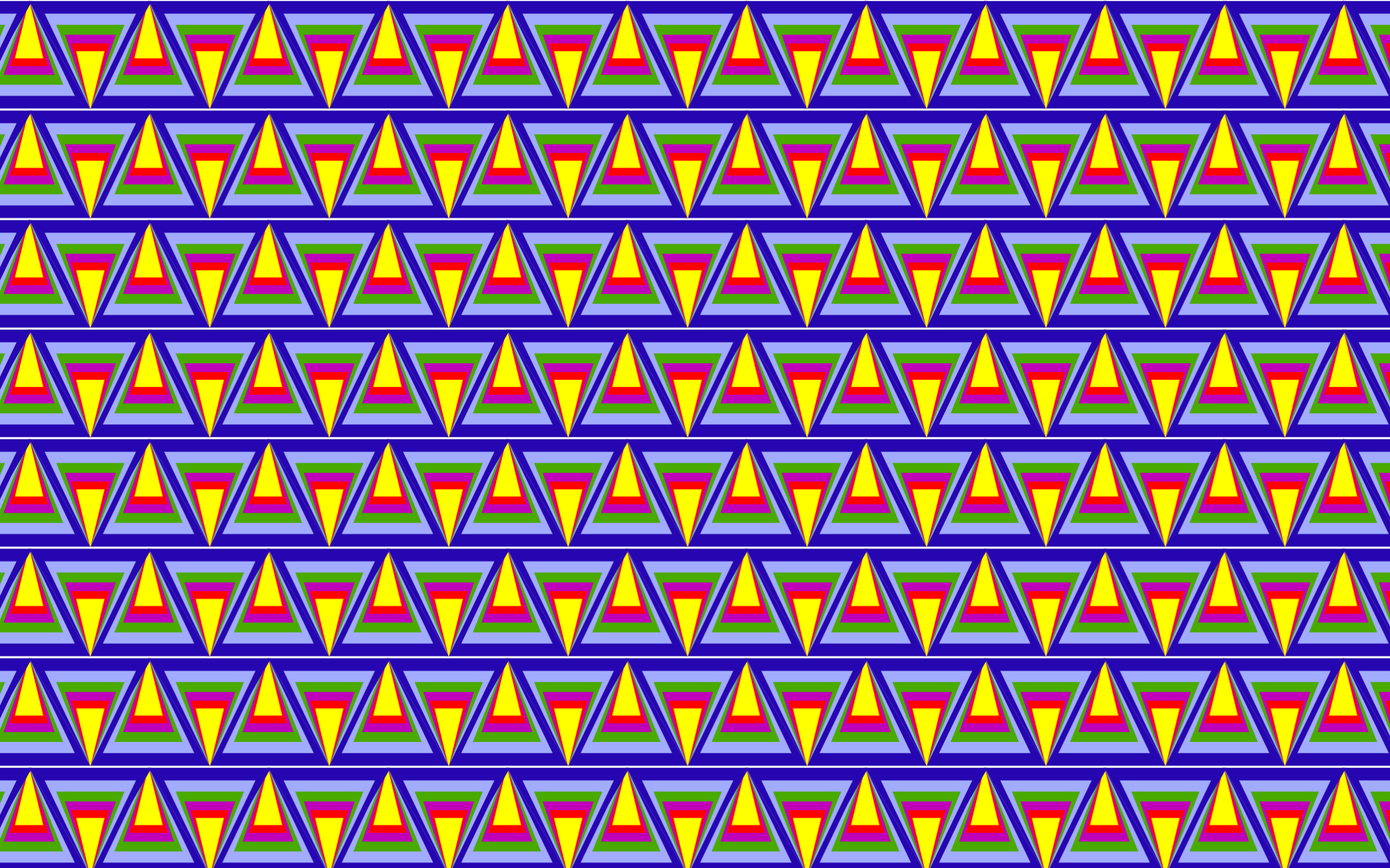 Seamless Prismatic Pythagorean Pattern by GDJ