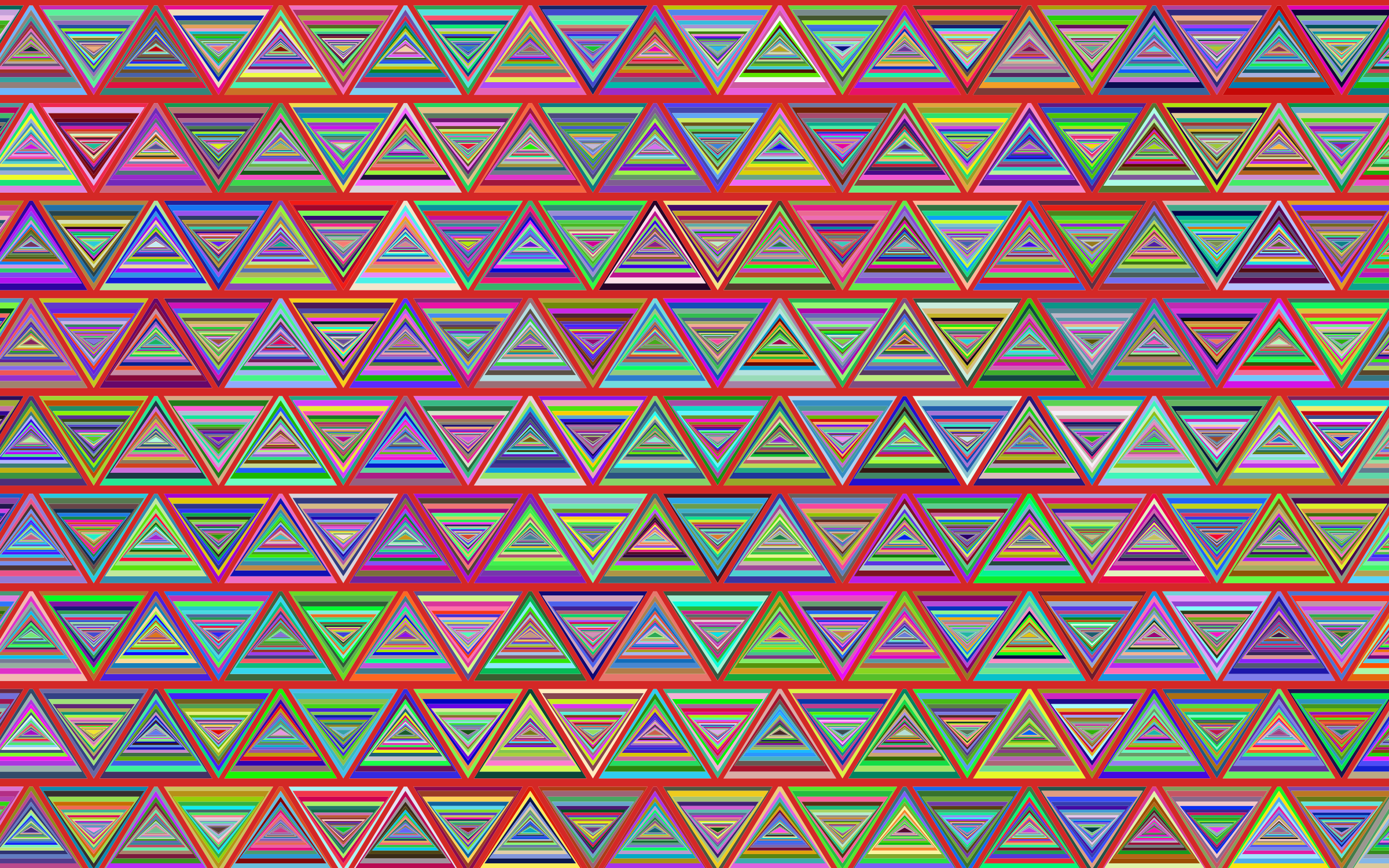 Prismatic Pythagorean Pattern 3 by GDJ