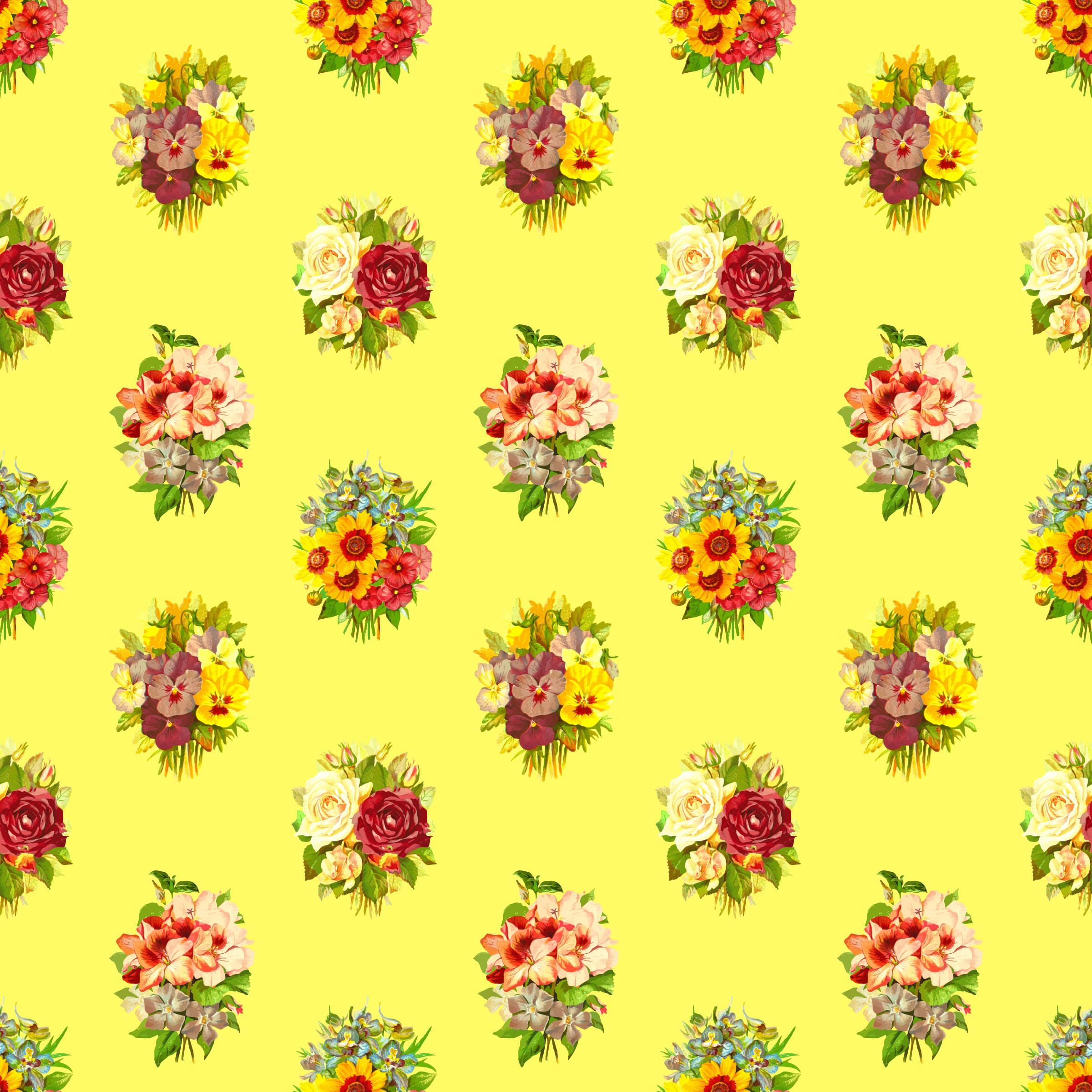 Clipart Flower pattern