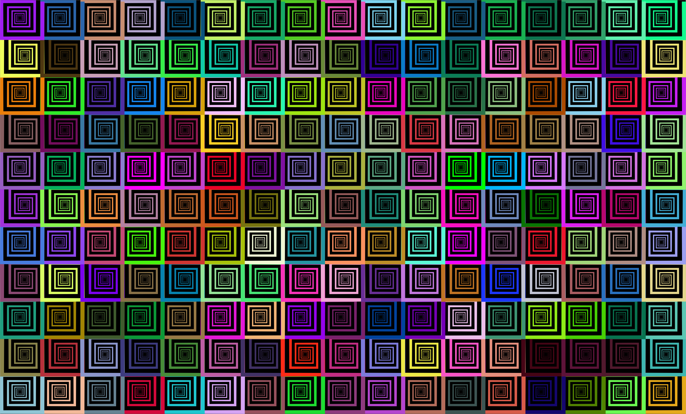Prismatic Hypnotic Pattern by GDJ