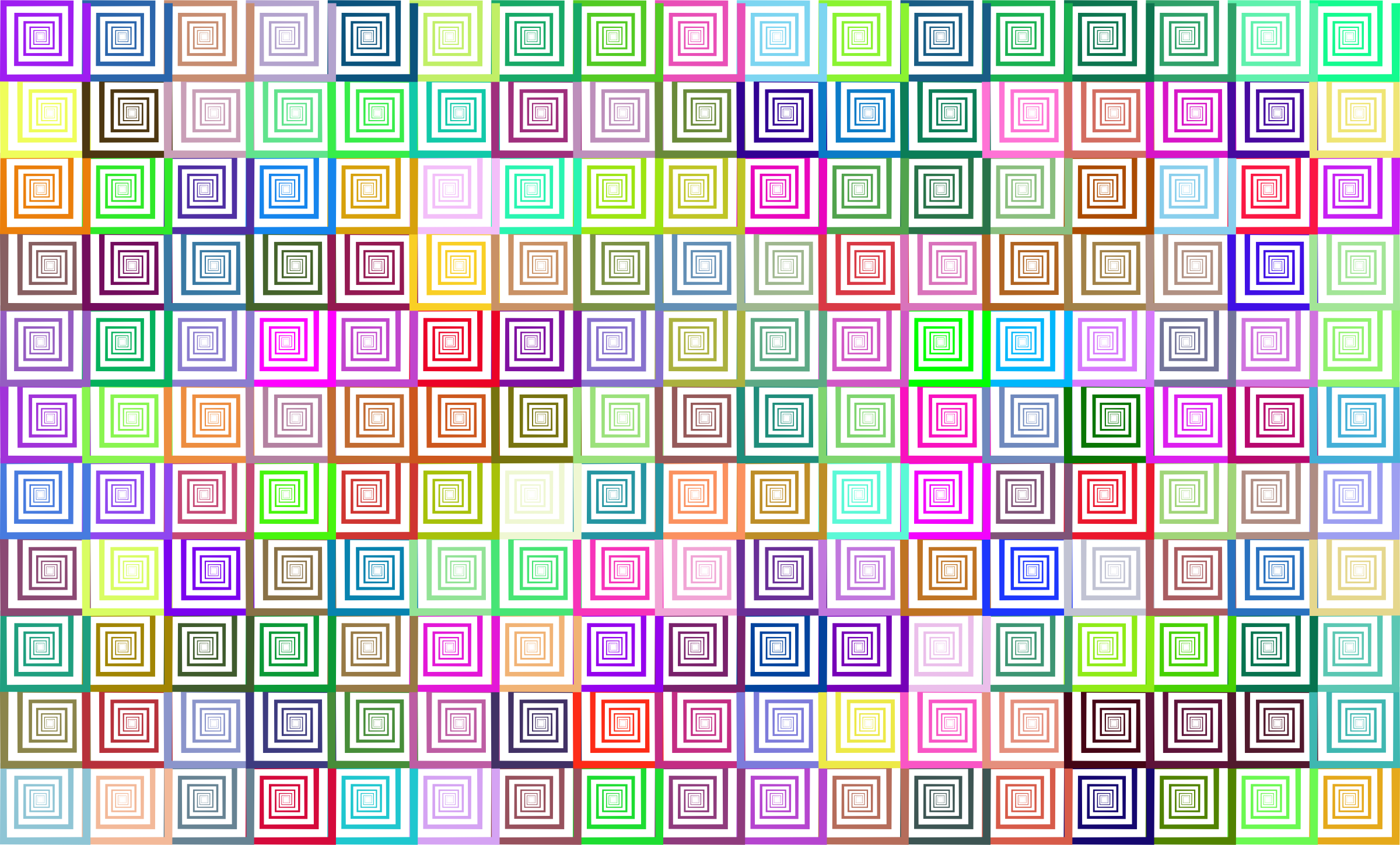 Prismatic Hypnotic Pattern No Background by GDJ