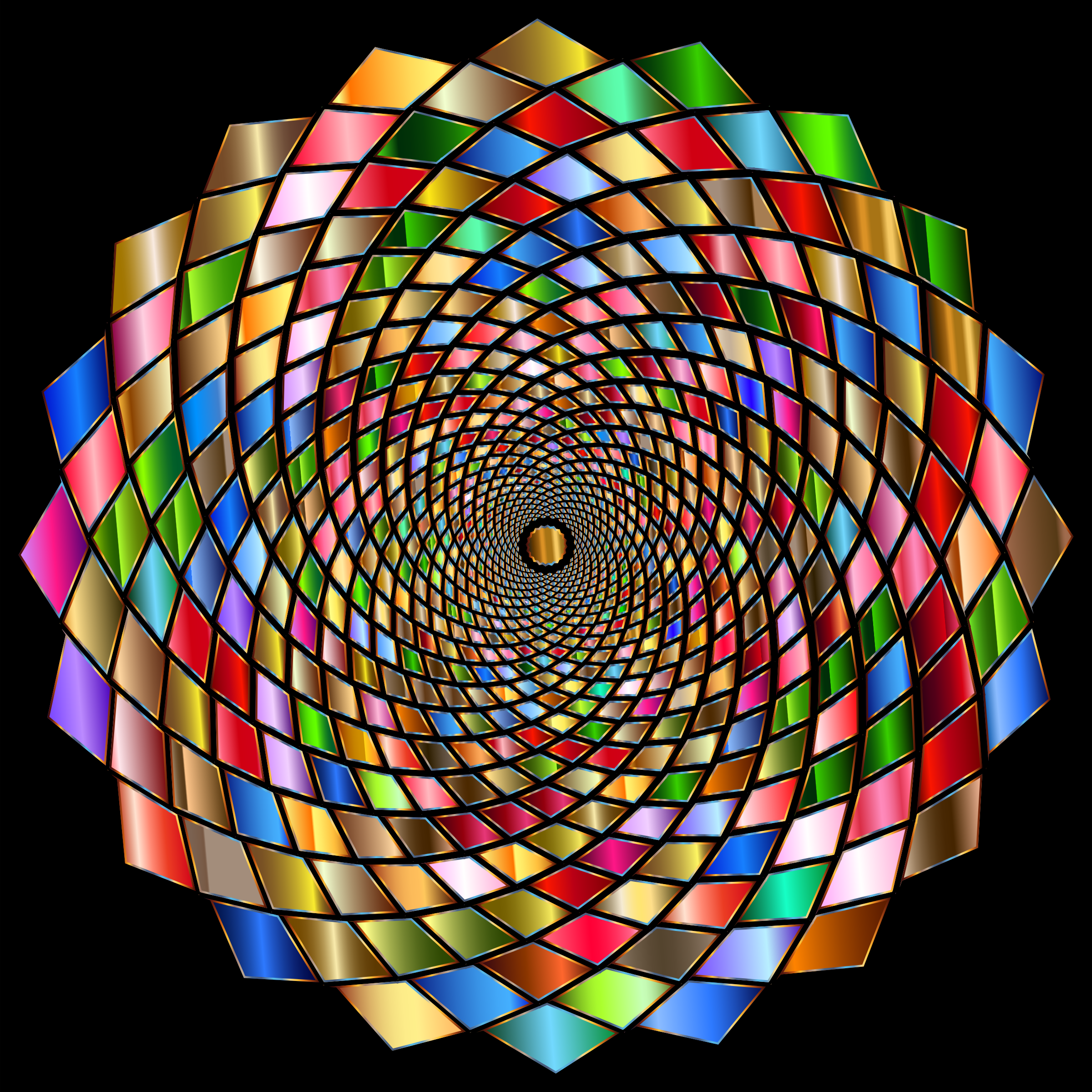 Chromatic Vortex 2 by GDJ