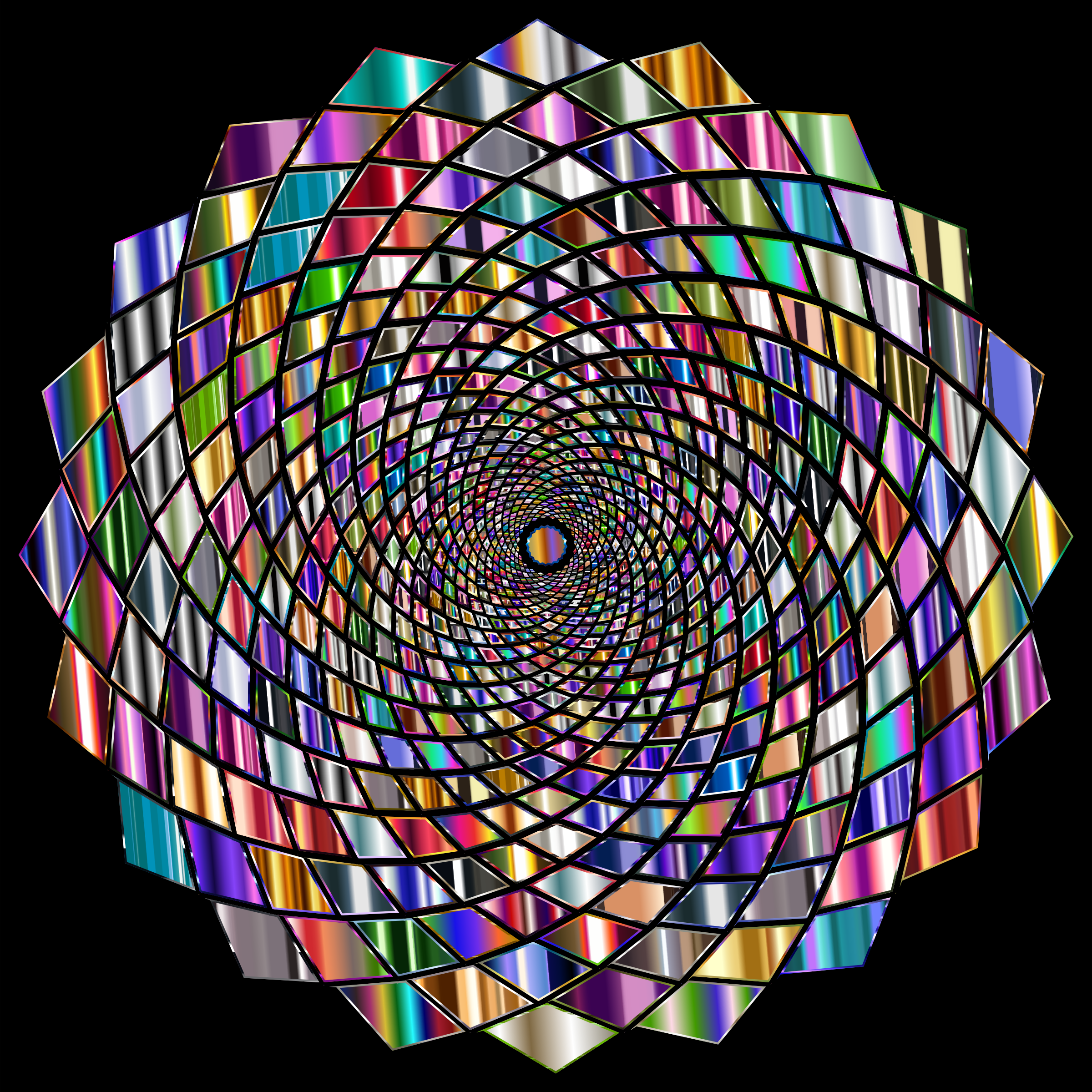 Chromatic Vortex 4 by GDJ