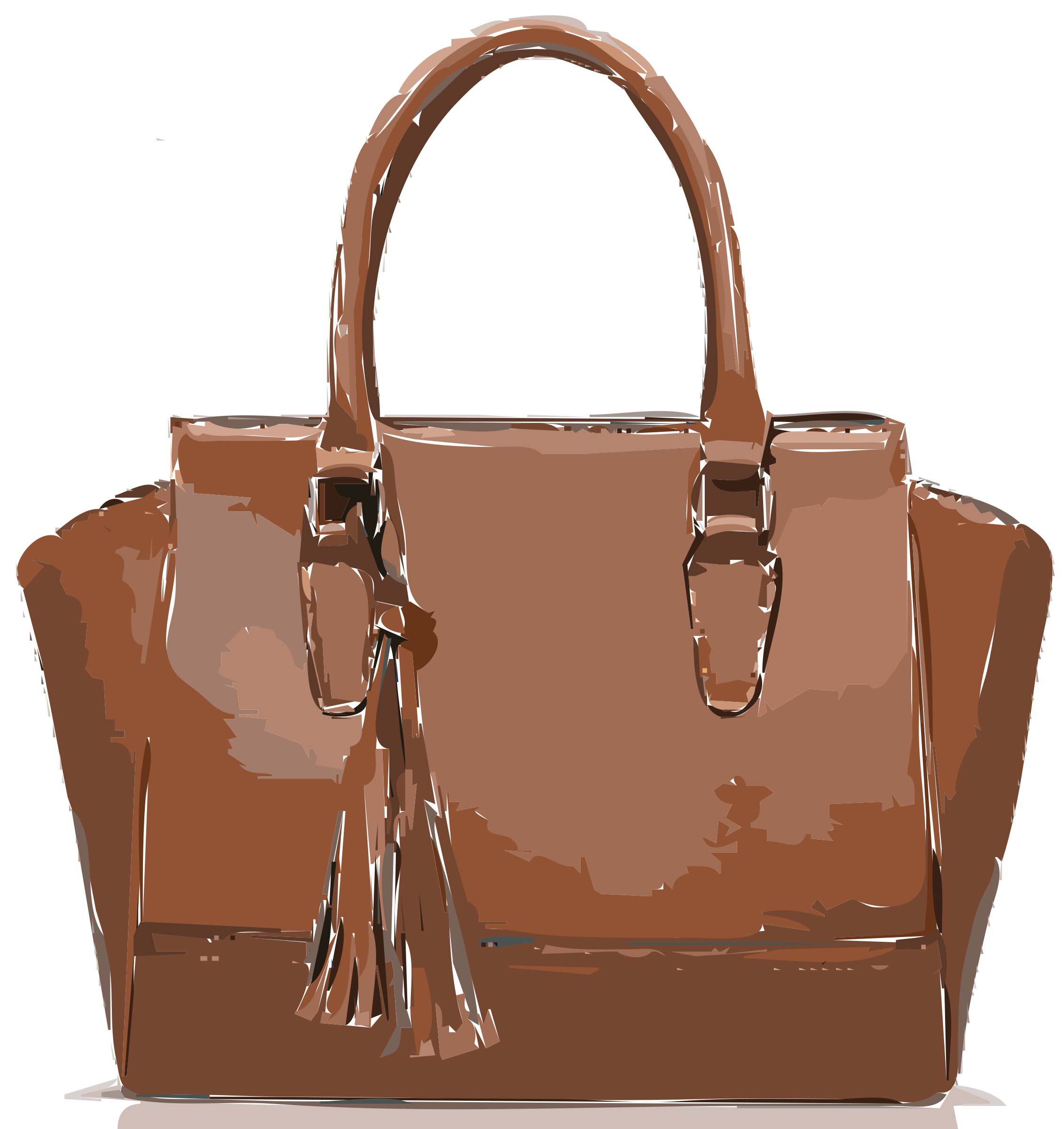 Brown Leather Bag NO LOGO by rejon