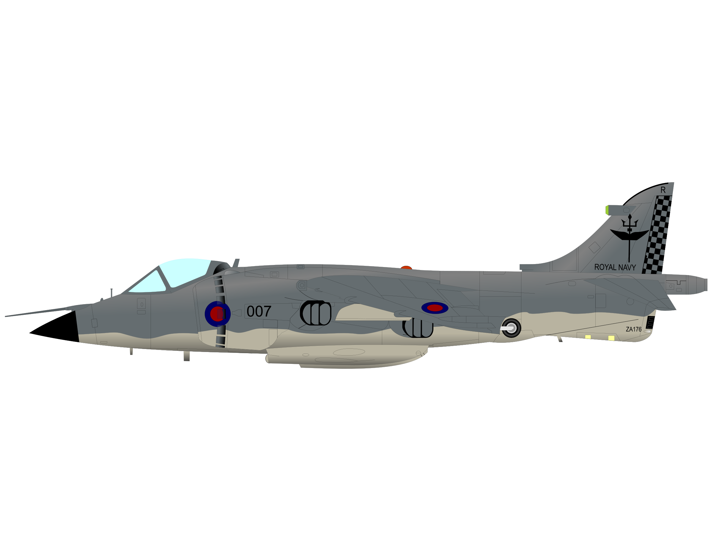 SEA HARRIER by charner1963
