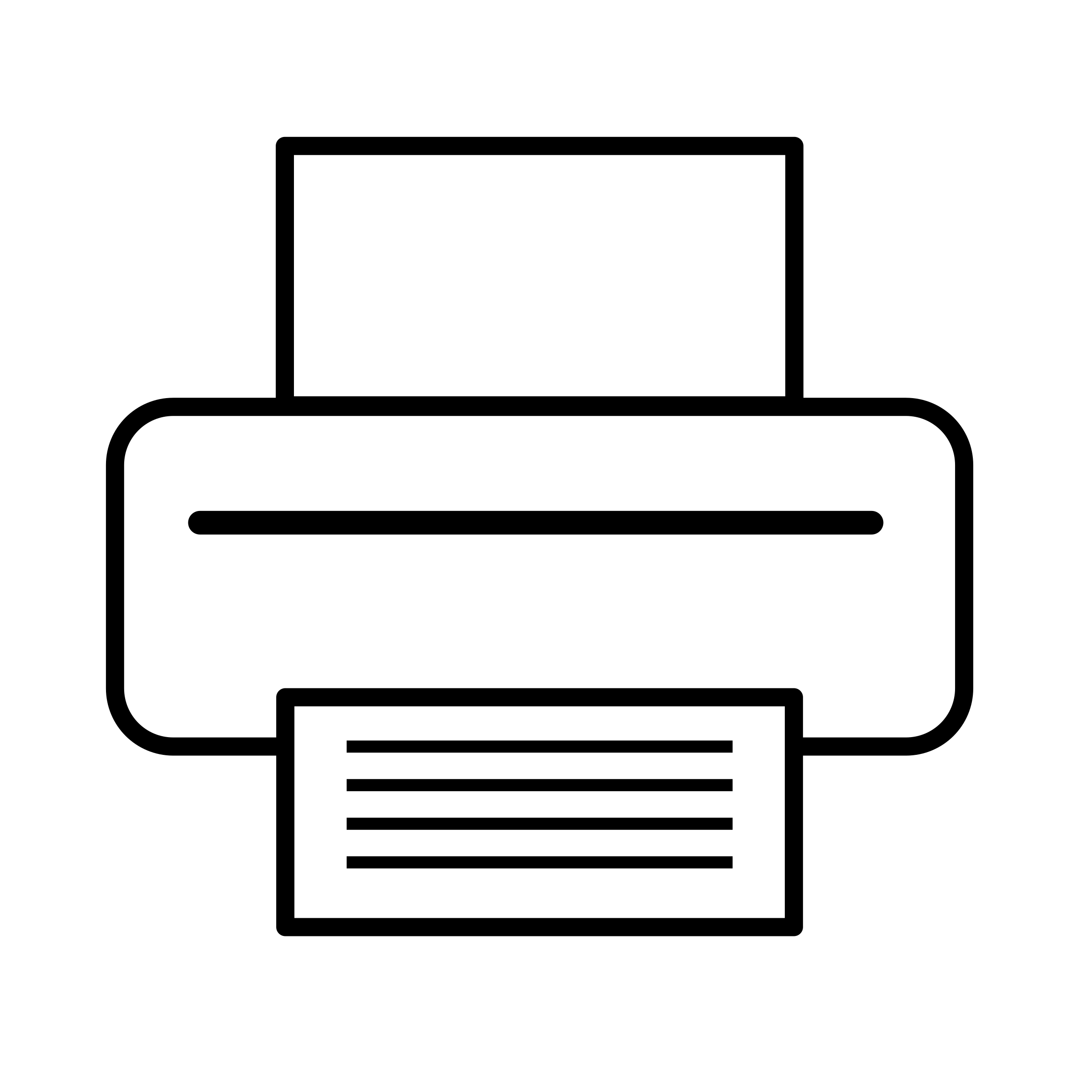 Printer icon by Anonymous