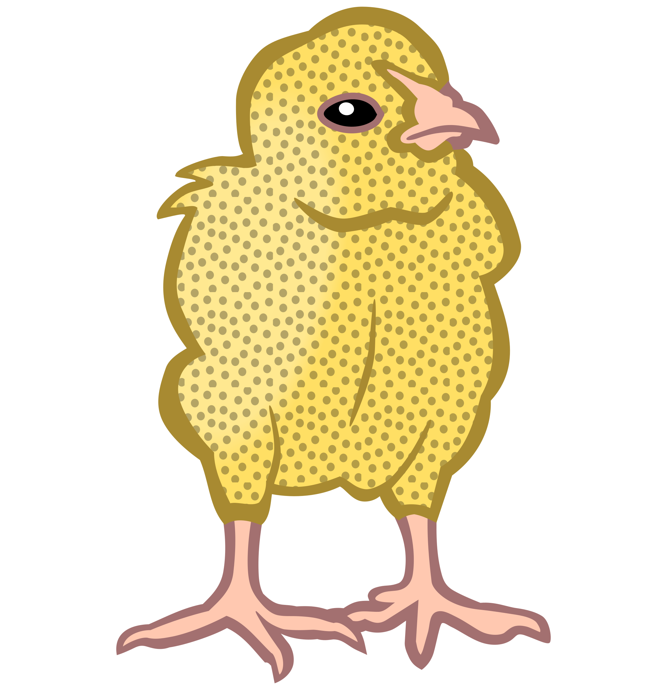 chick3 - coloured by frankes