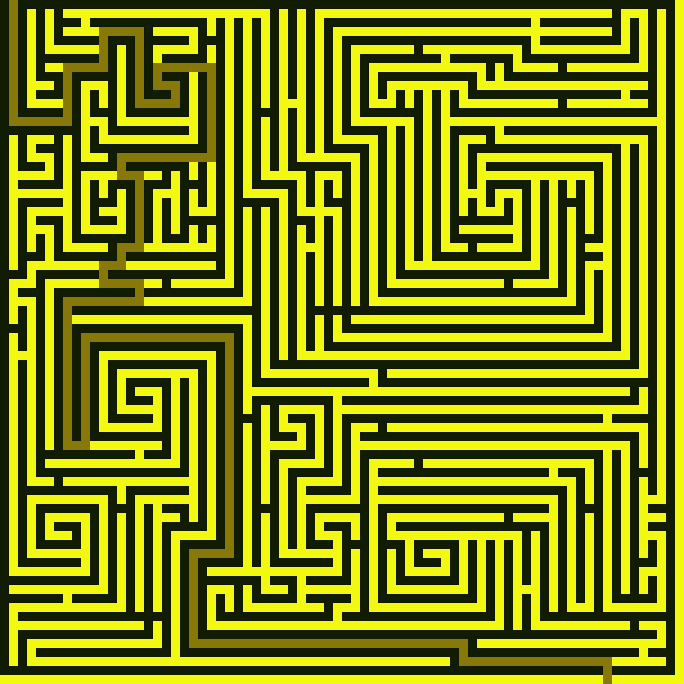 Spiral Maze Solution by AdamStanislav