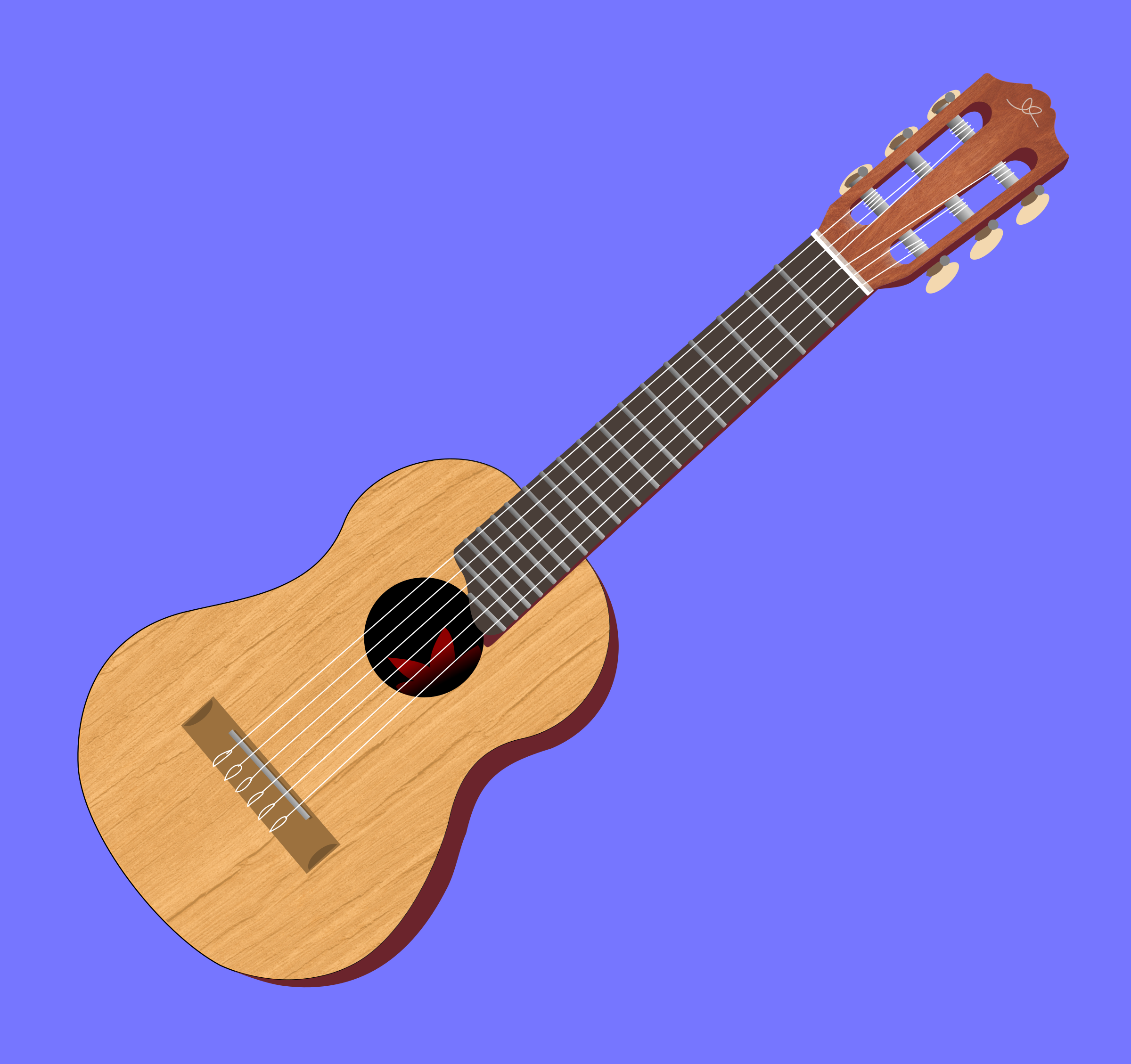 guitar by donchico