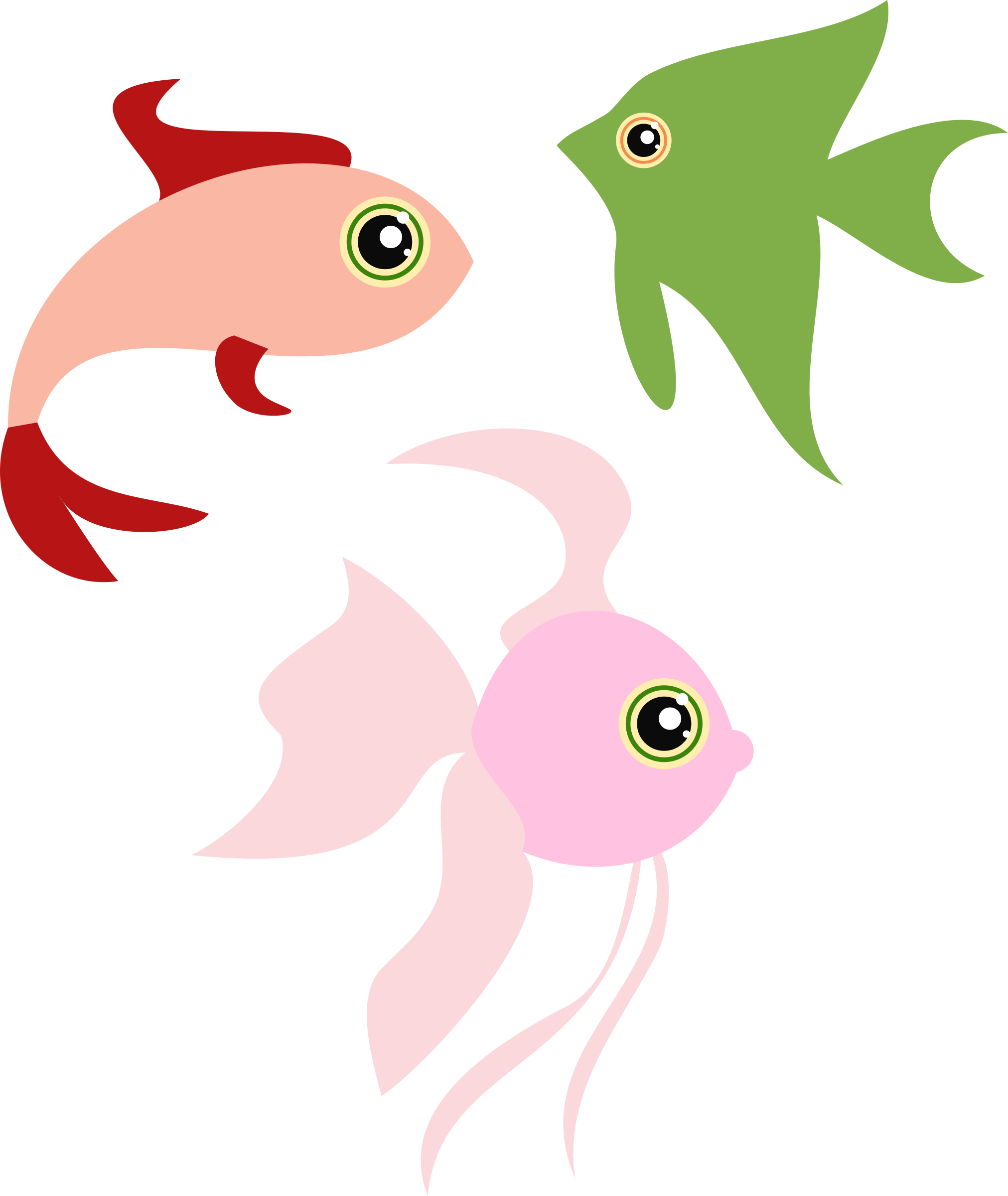 funny fishes by donchico