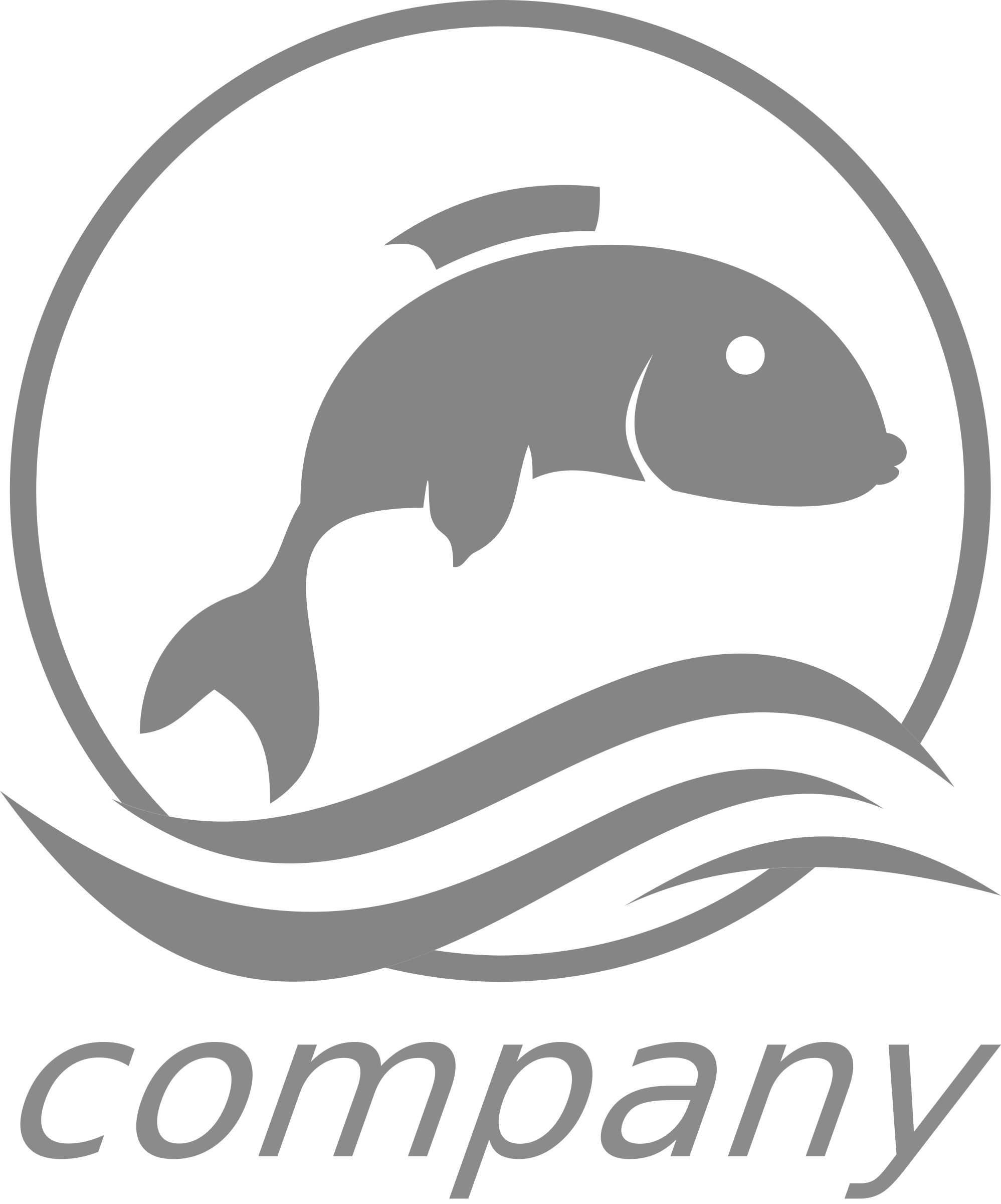 fish logo by donchico
