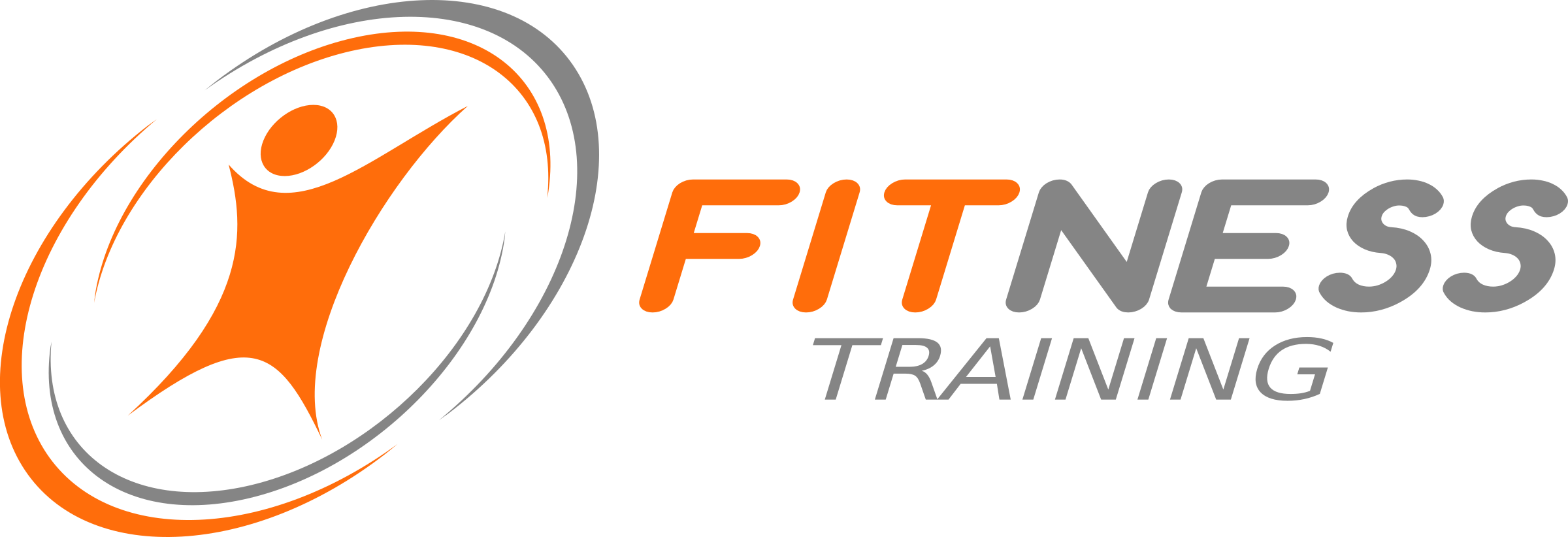 fitness logo by donchico