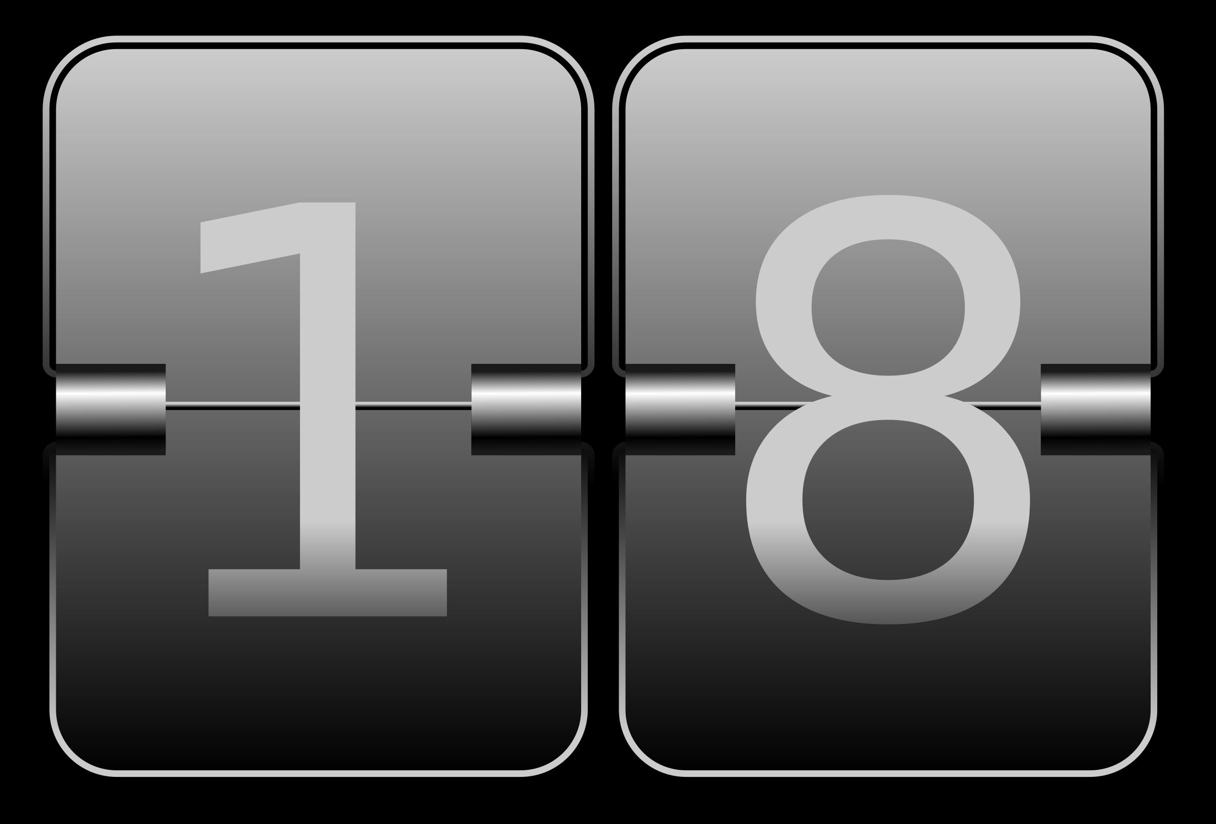 Clipart Digital Clock
