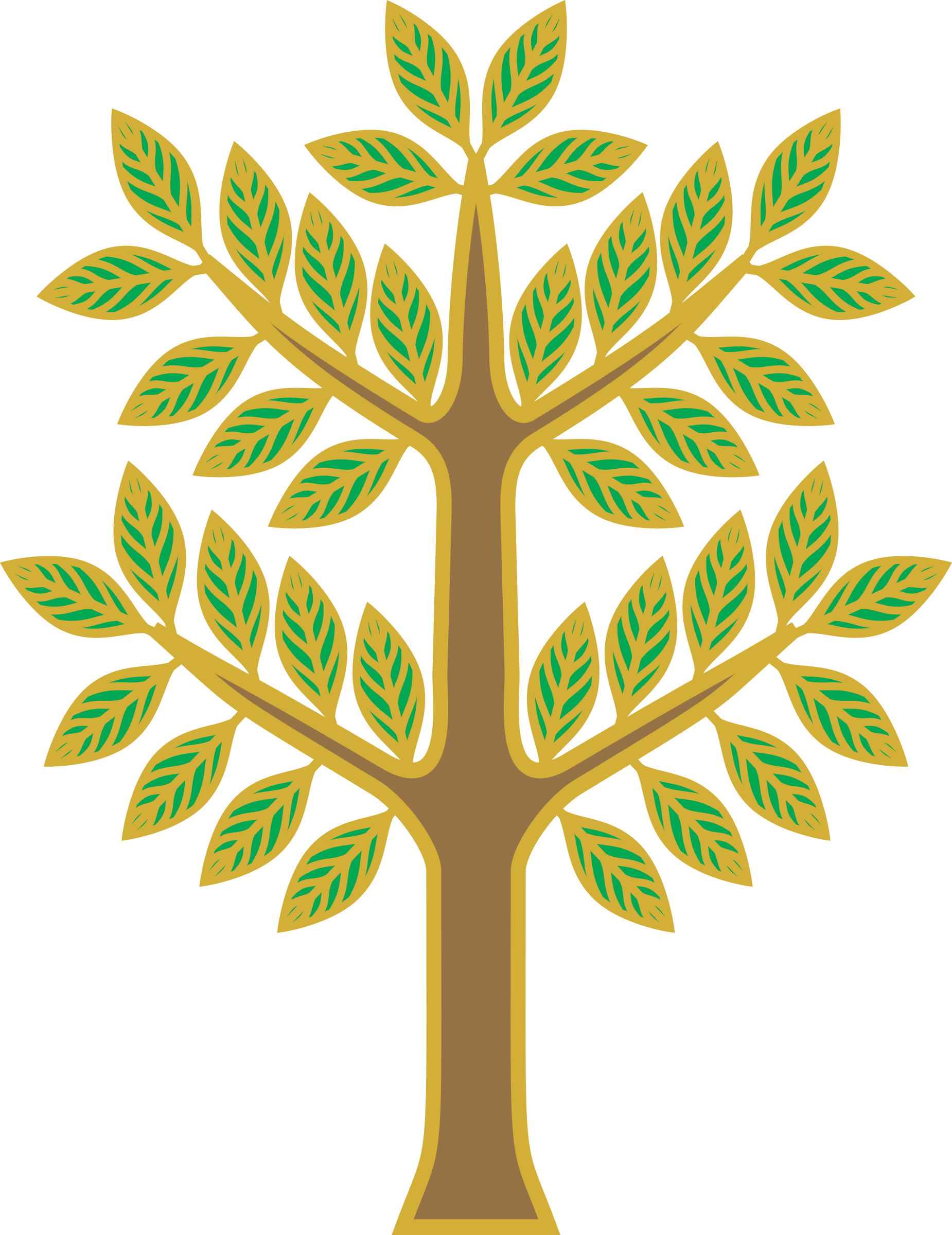 Stylised tree by Firkin