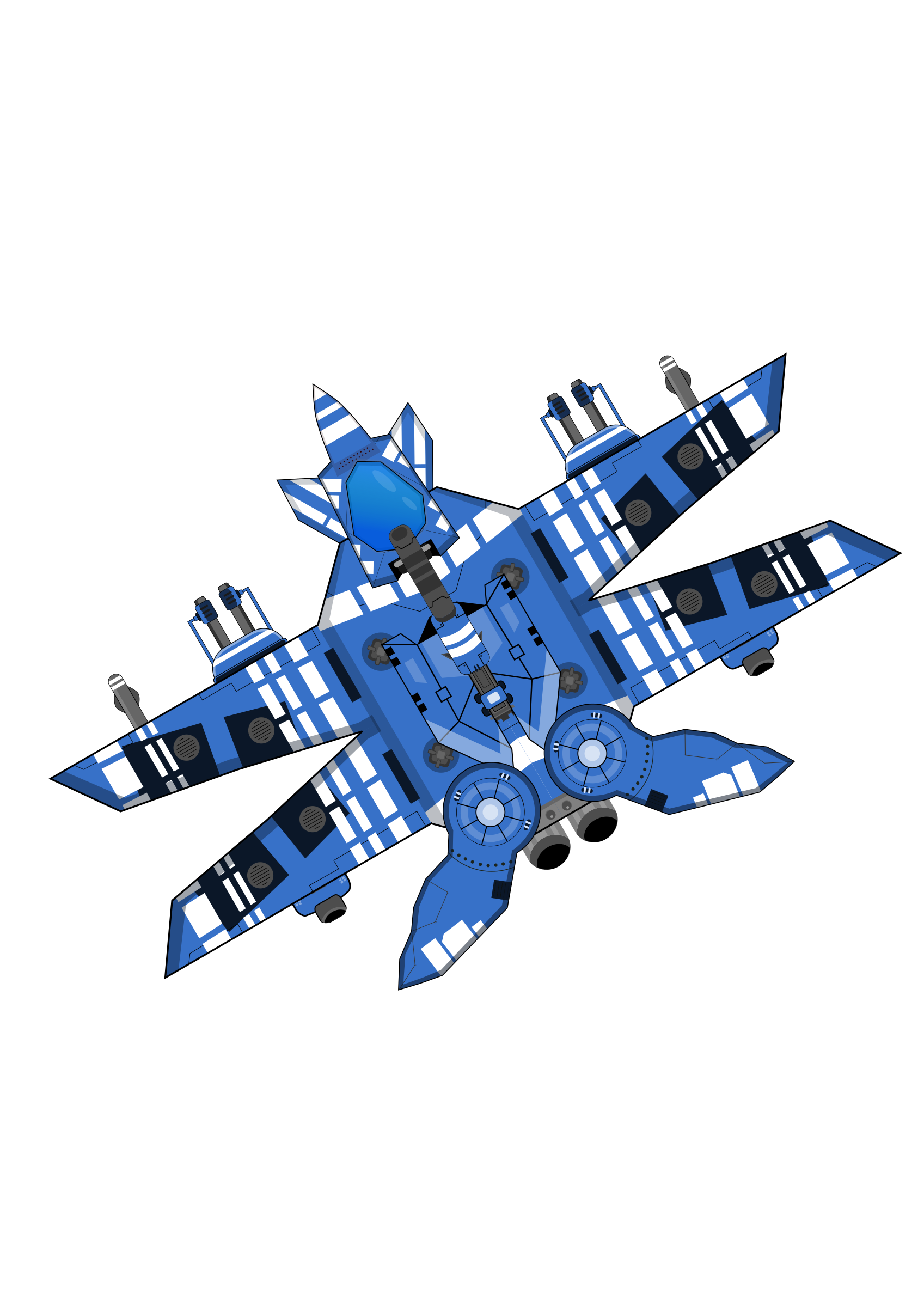 Spaceship Blue by firestorm200