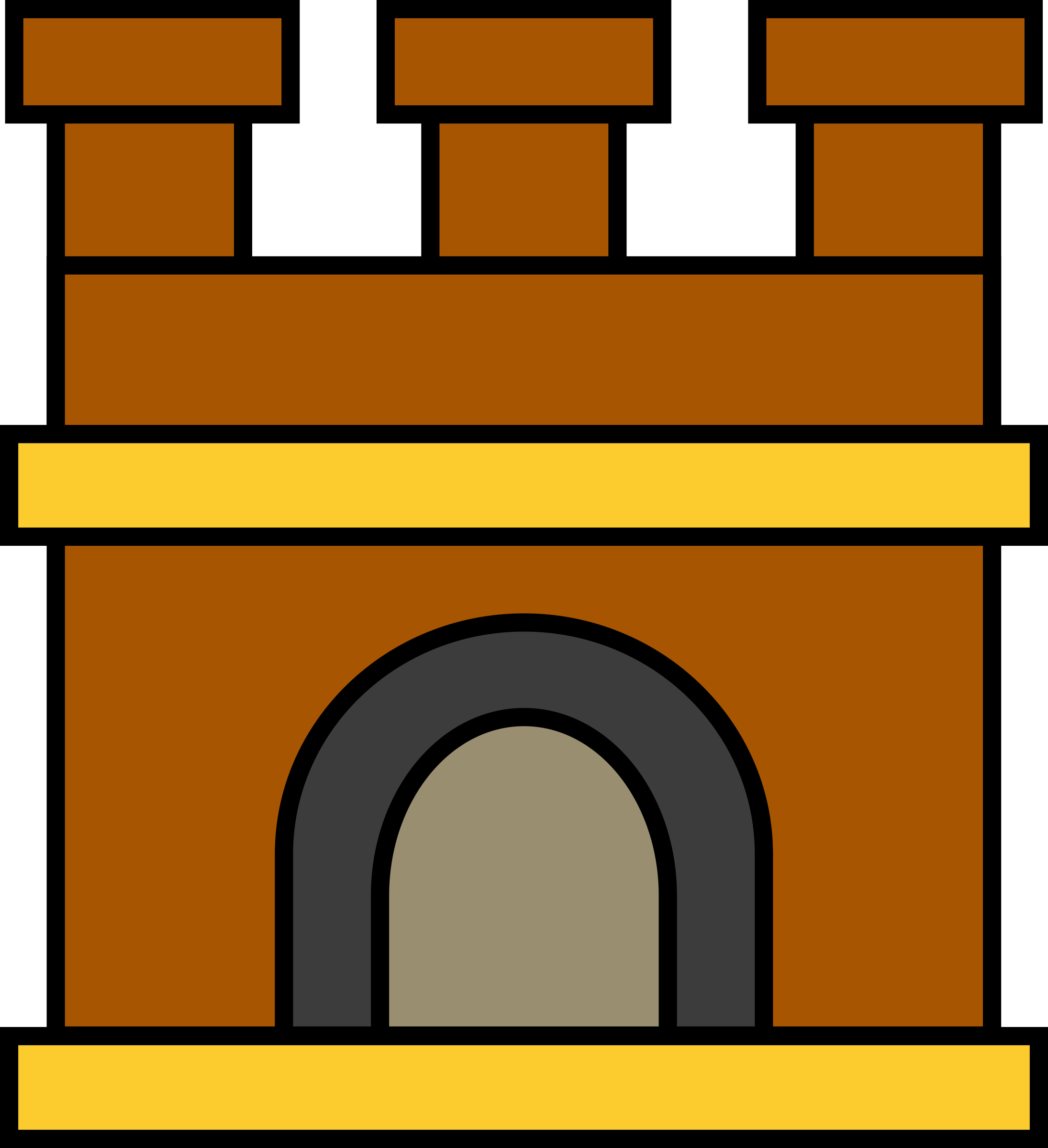 Castle keep by Firkin