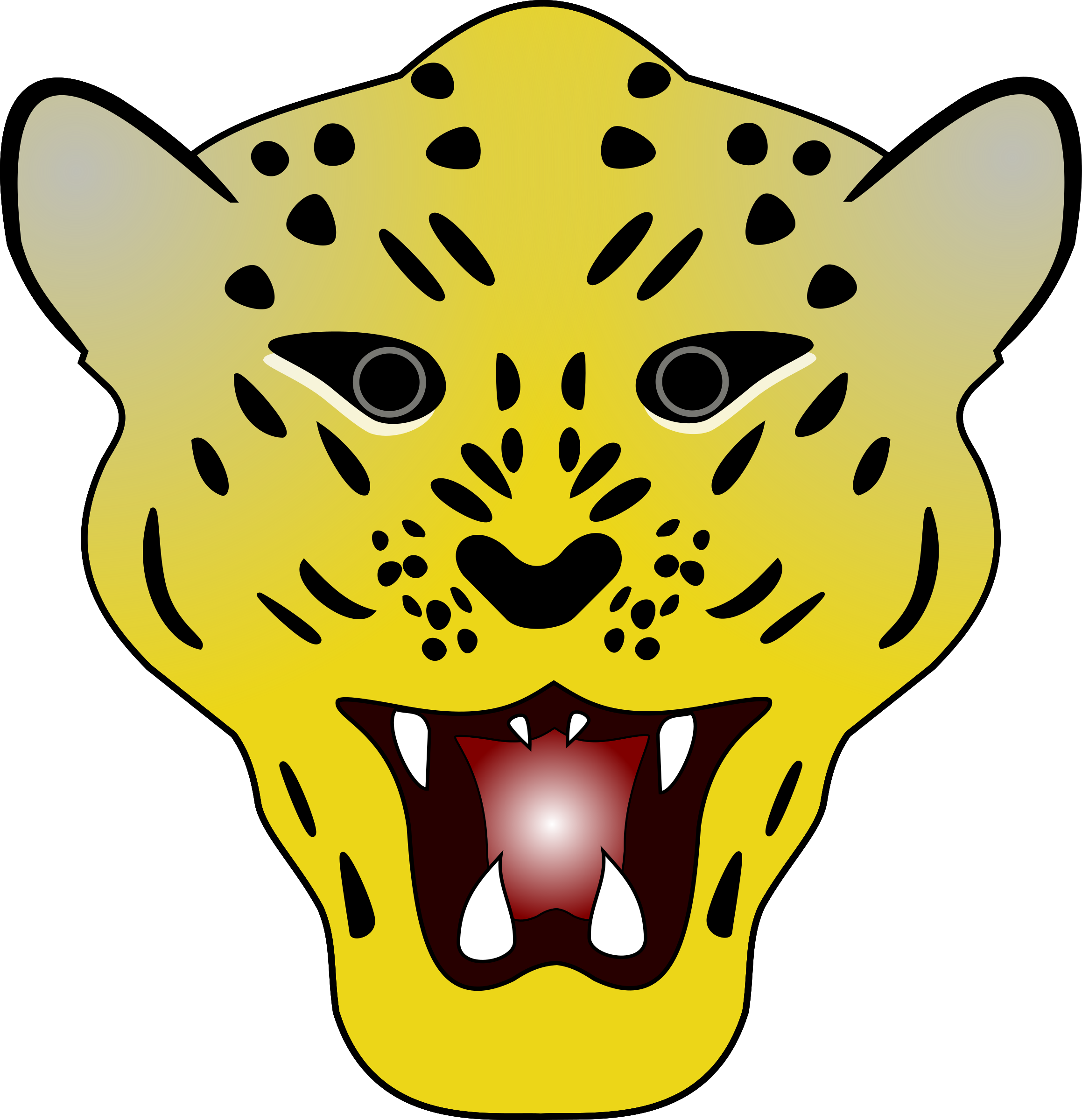 Leopard head by Firkin