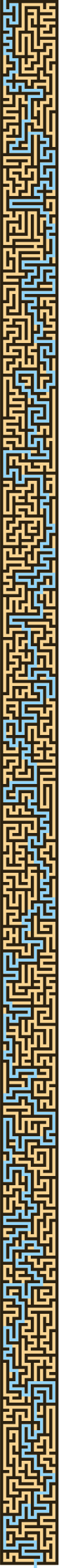Solution to the Block Version of the Thin Maze by AdamStanislav