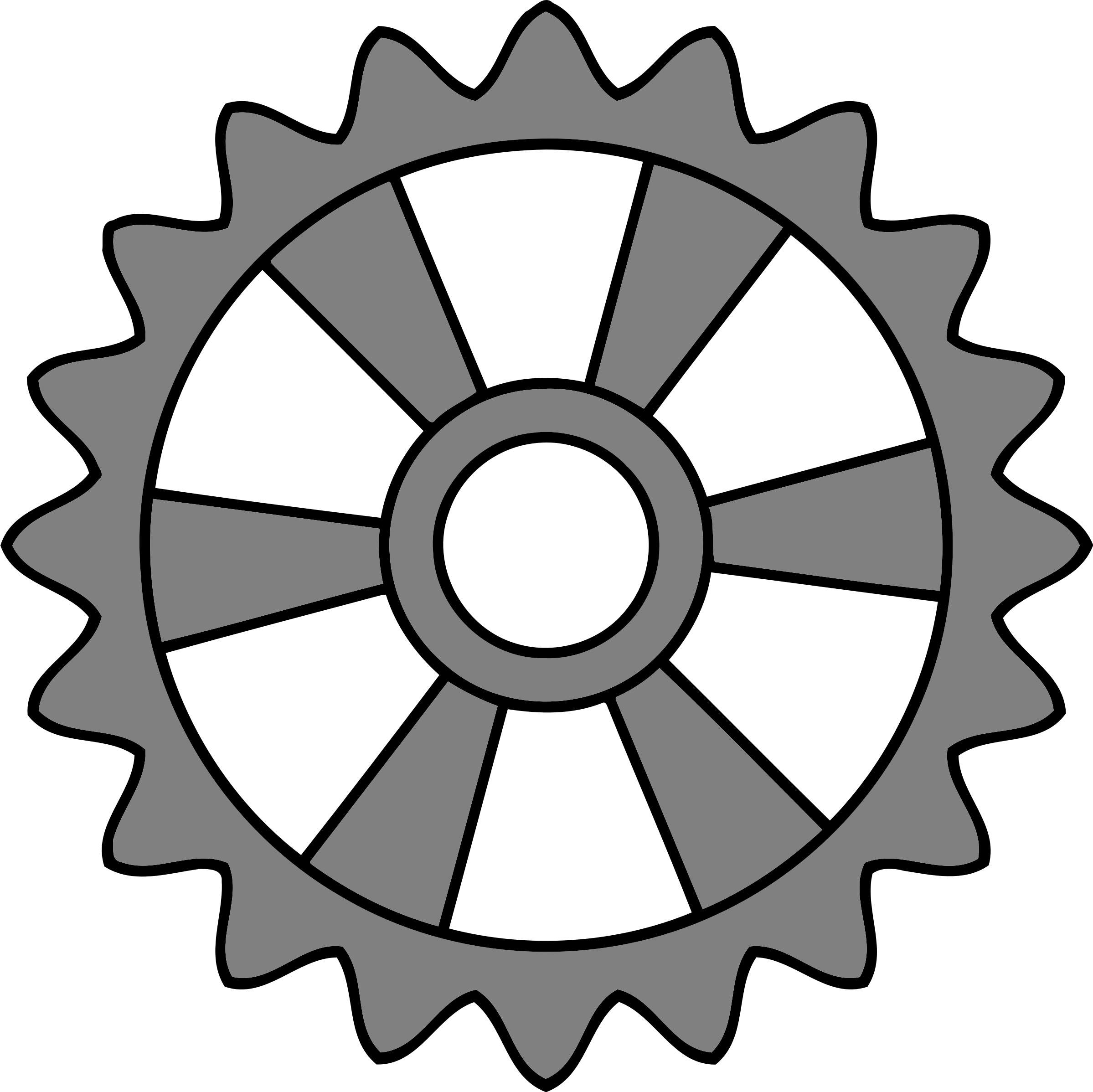 20-tooth gear with radial spokes by Firkin