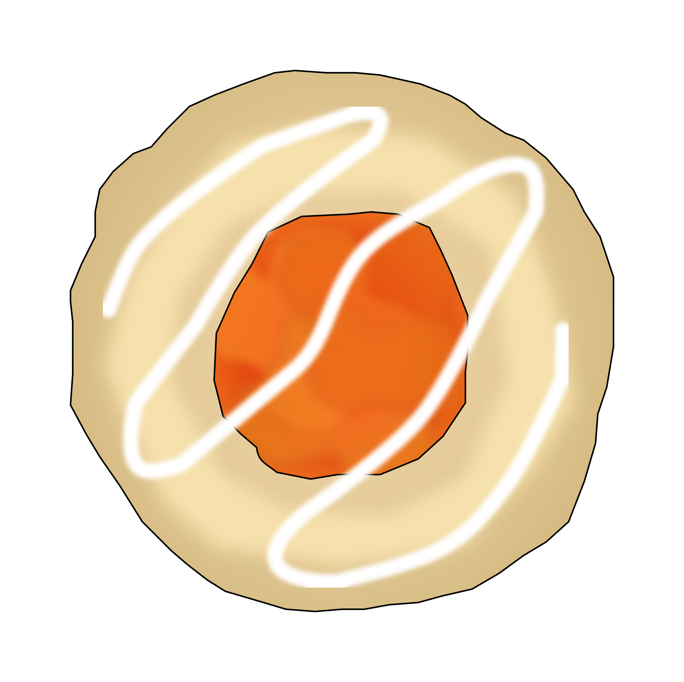 Apricot Thumbprint Cookie by PinkJellyfish