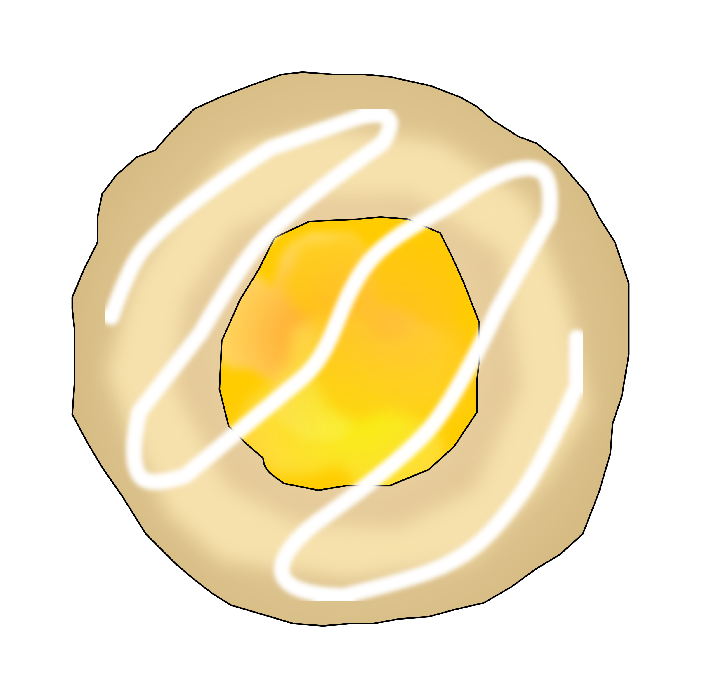 Lemon Thumbprint Cookie by PinkJellyfish