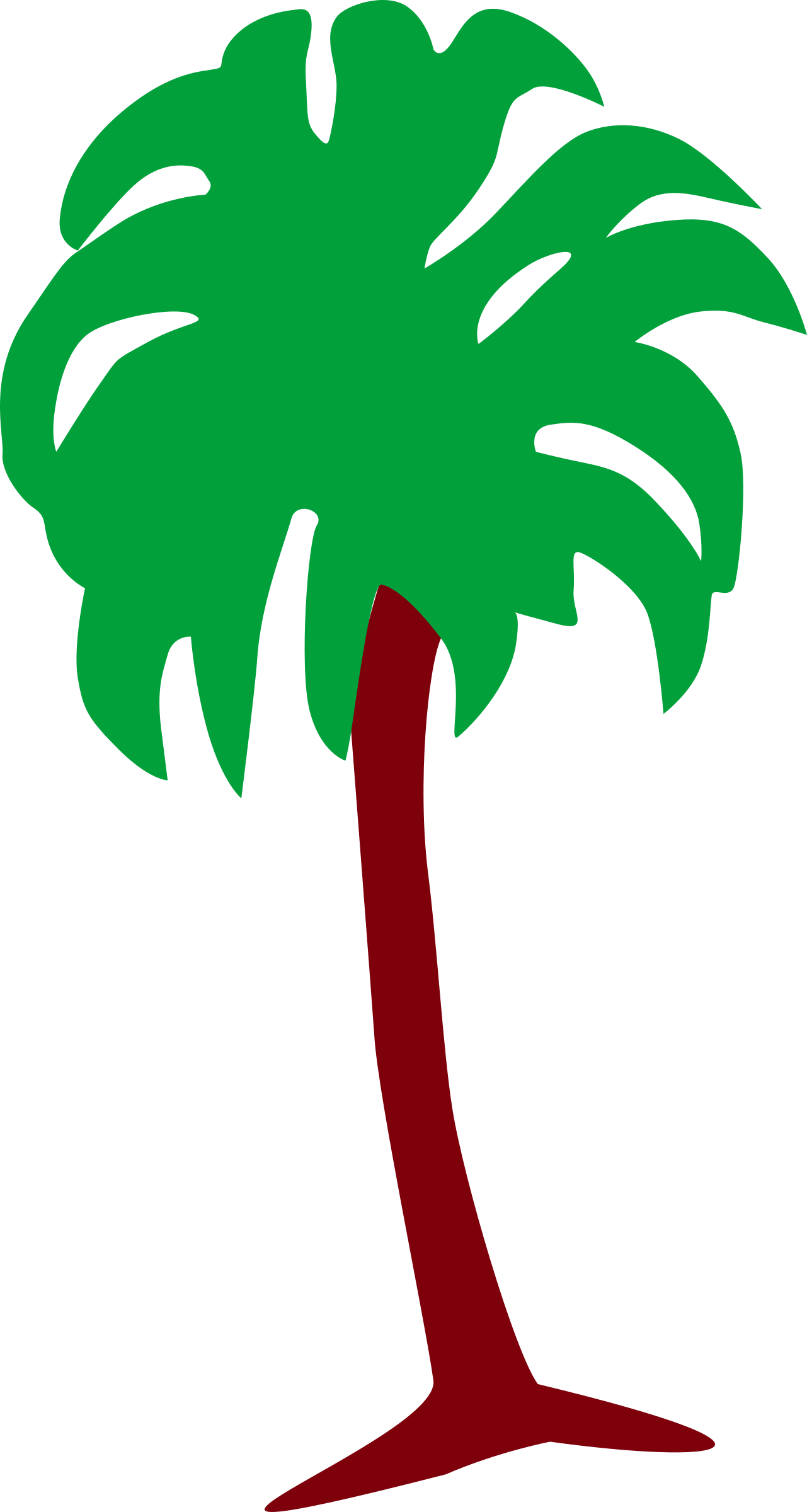 Palm tree 3 by Firkin