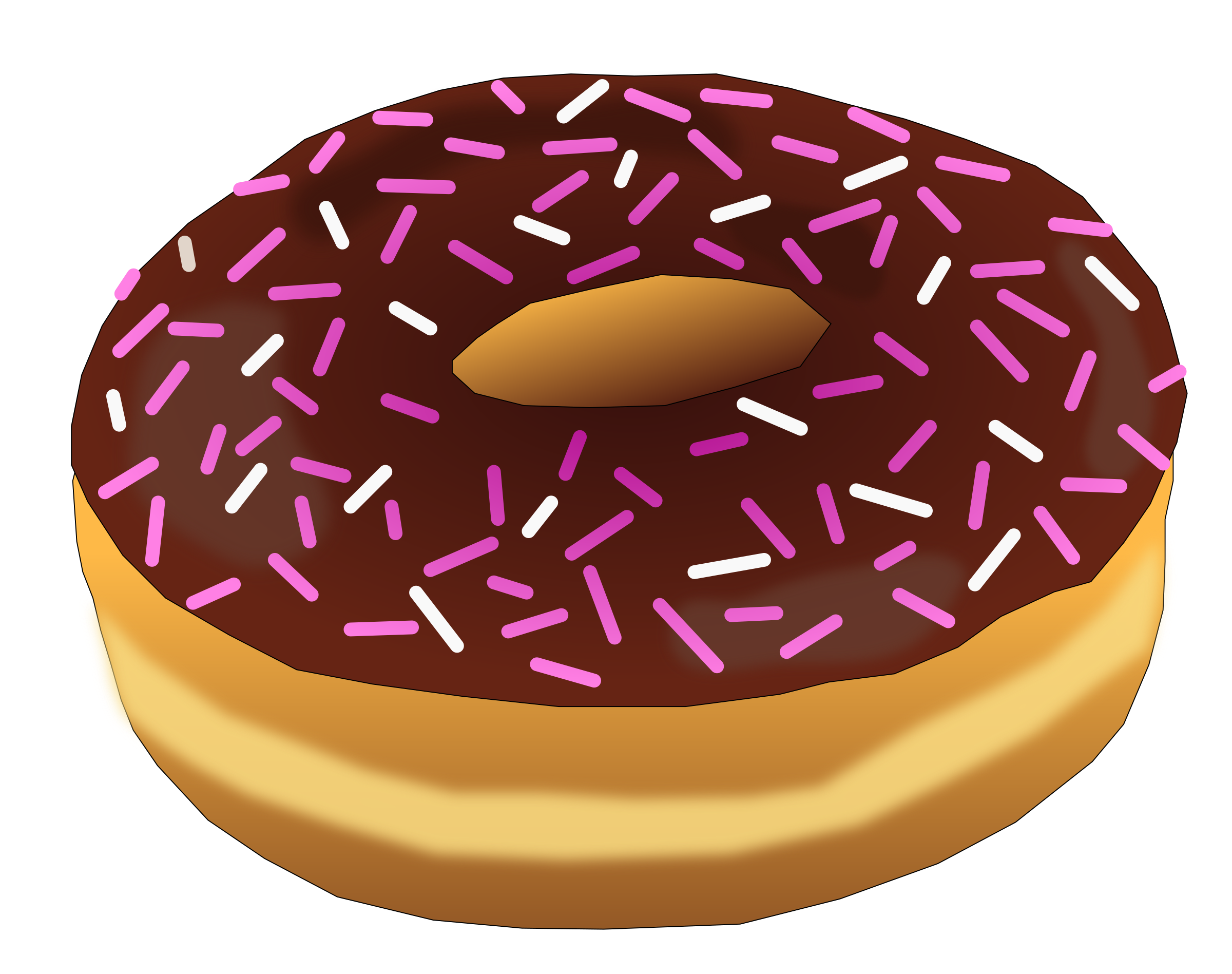 Pink Donut 2 by PinkJellyfish