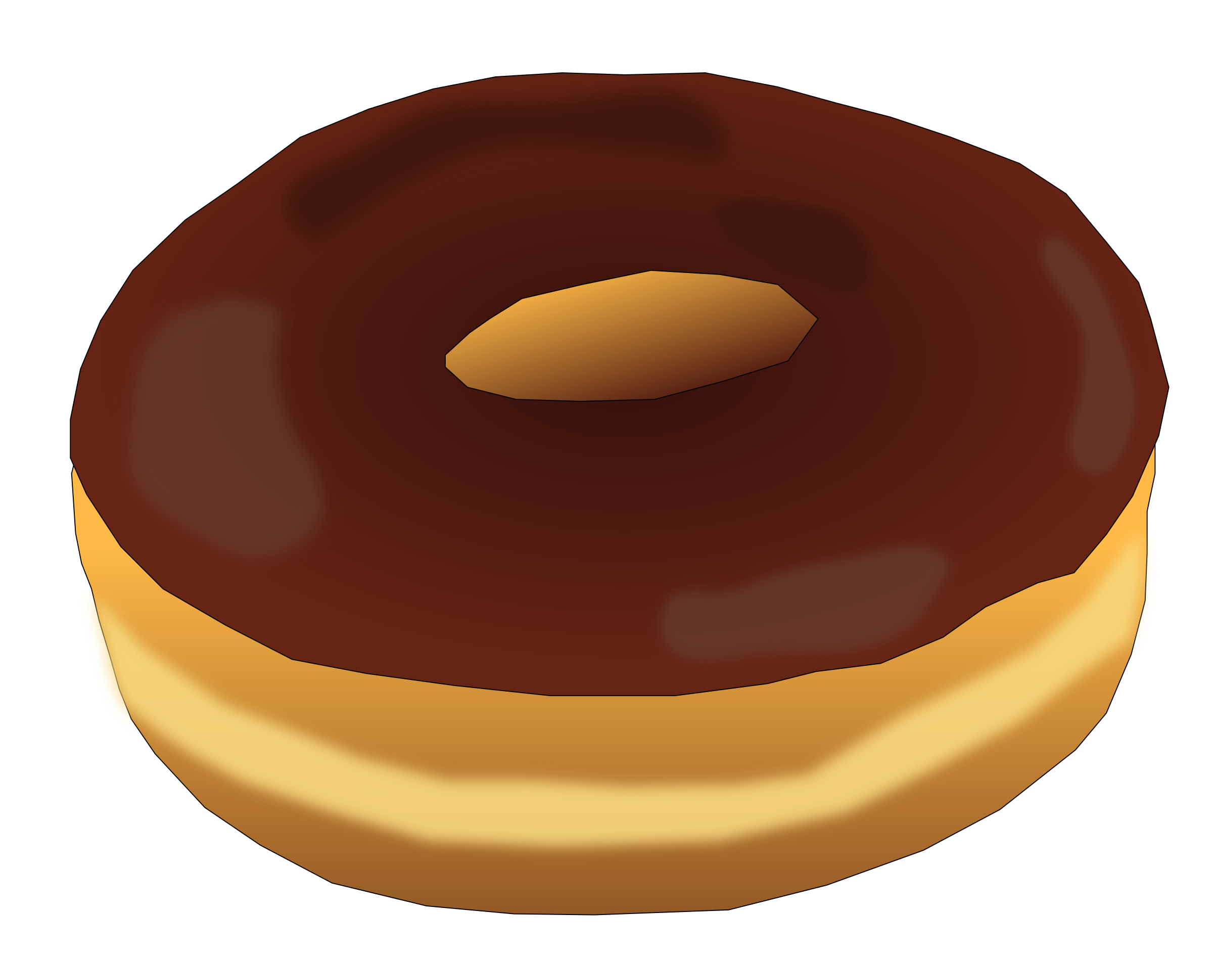 Plain Donut 2 by PinkJellyfish
