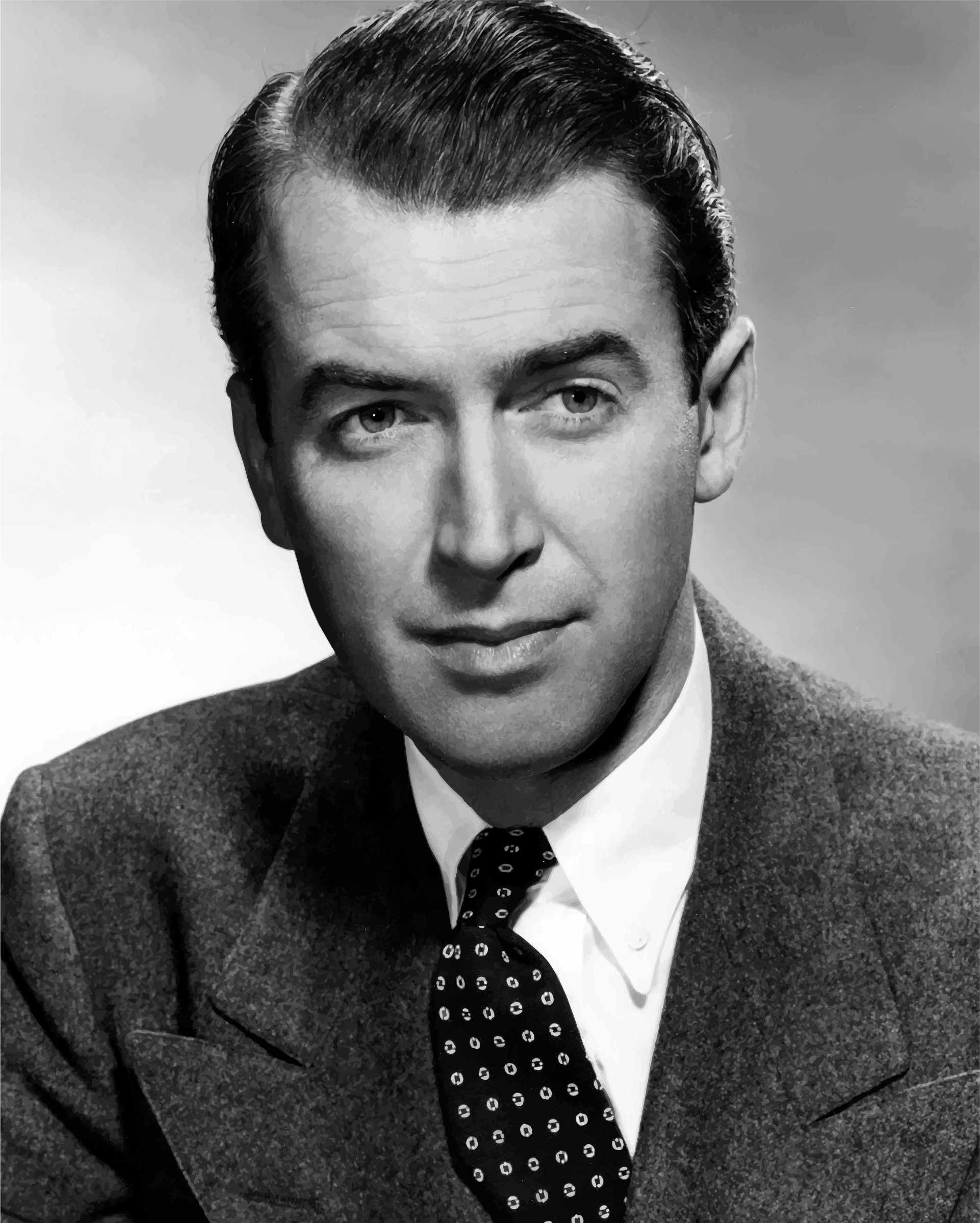 James Stewart Portrait by GDJ