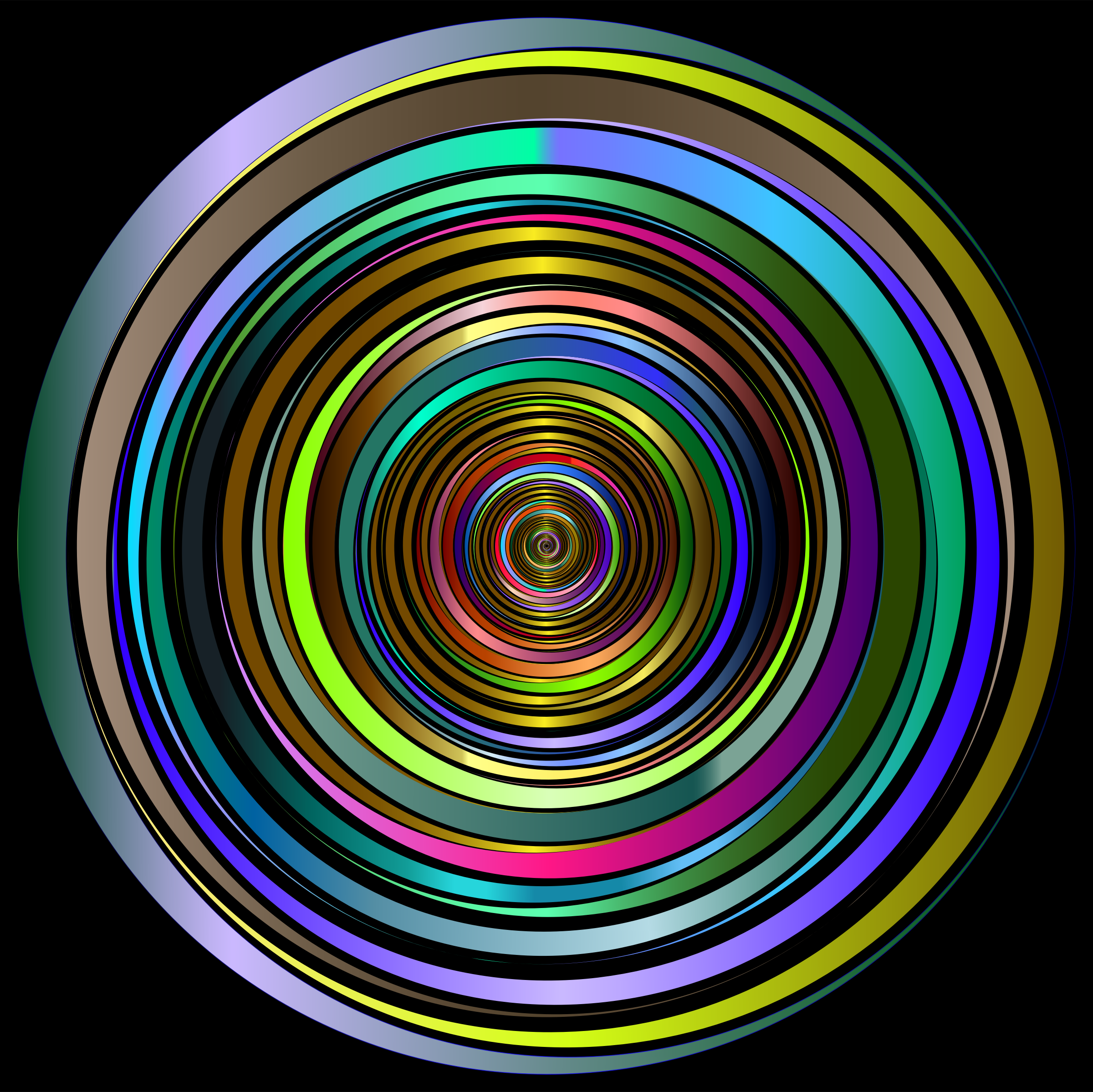 Prismatic Abstract Vortex 18 2 by GDJ