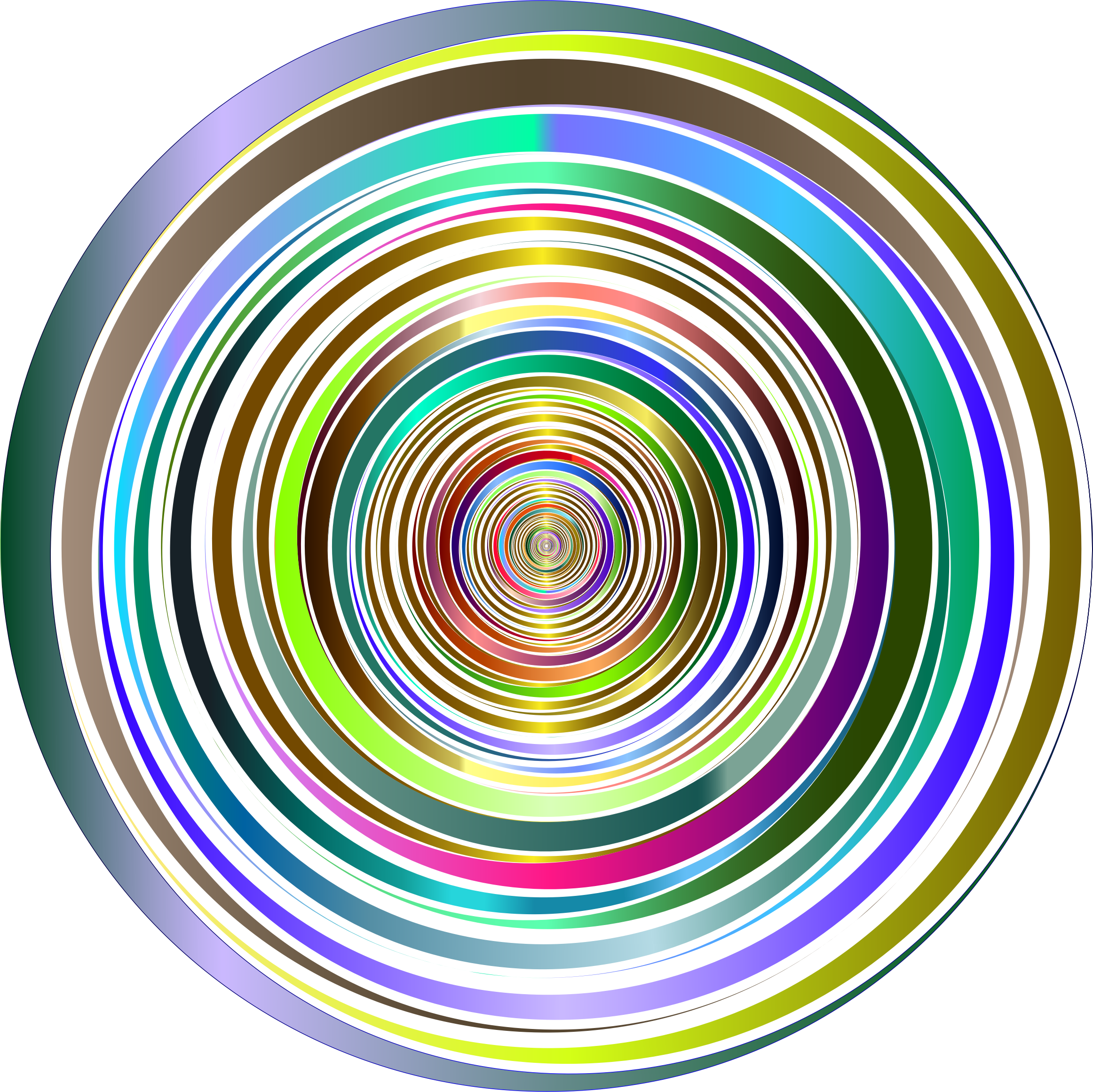 Prismatic Abstract Vortex 18 2 No Background by GDJ