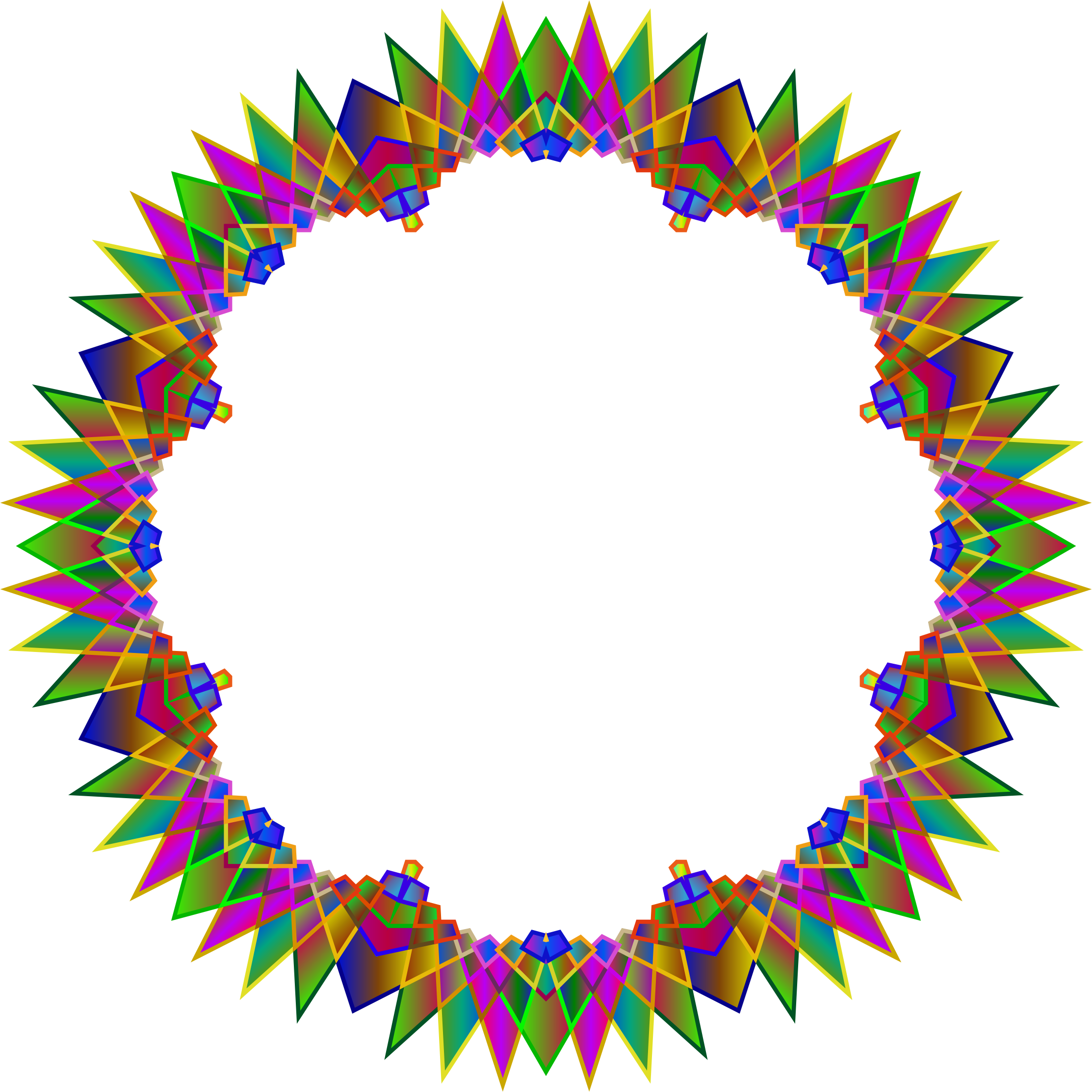 prismatic multipoint star frame 7