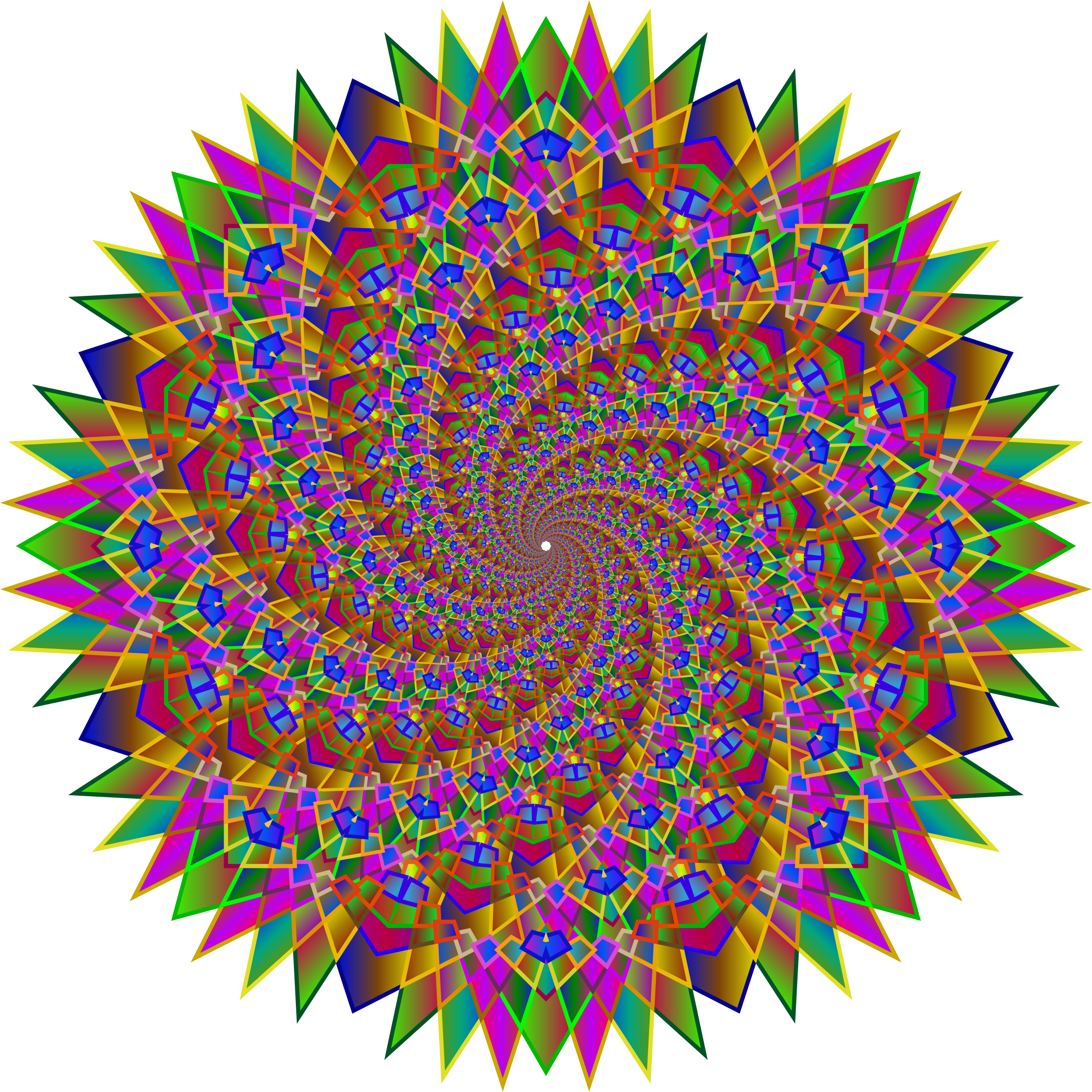 Prismatic MultiPoint Star Vortex by GDJ