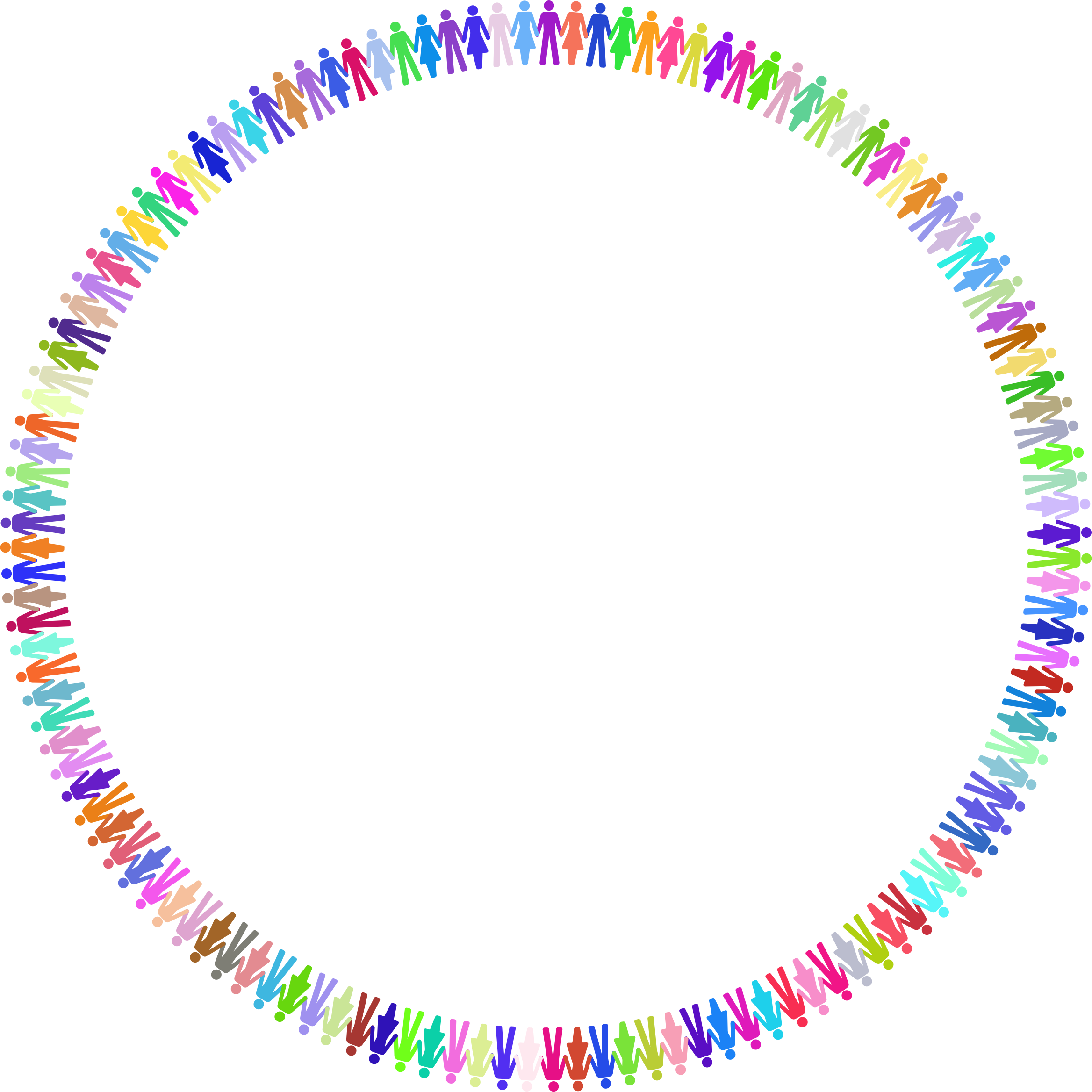 Prismatic Human Cooperation Circle by GDJ