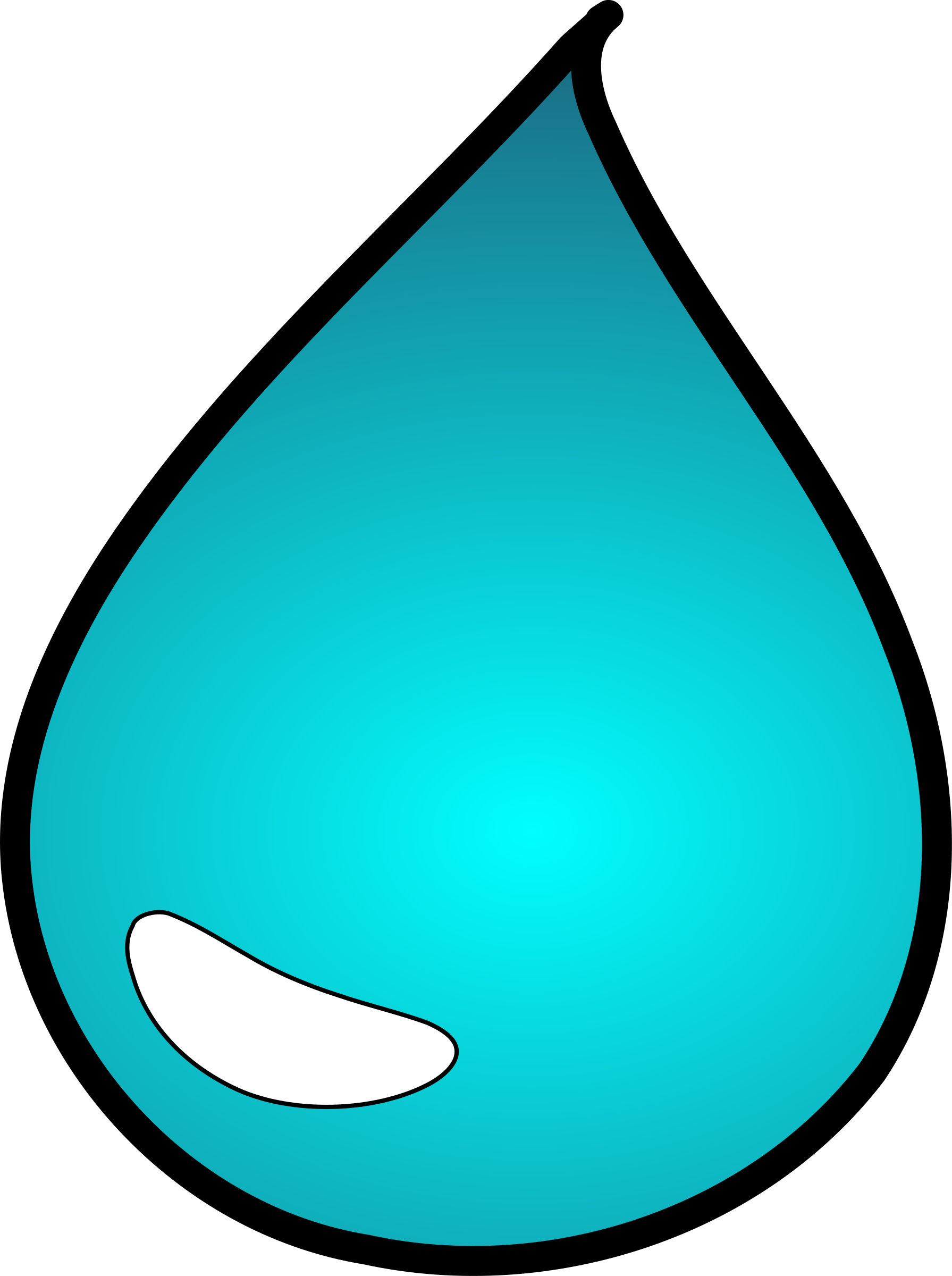 Water Drop by ginkgo