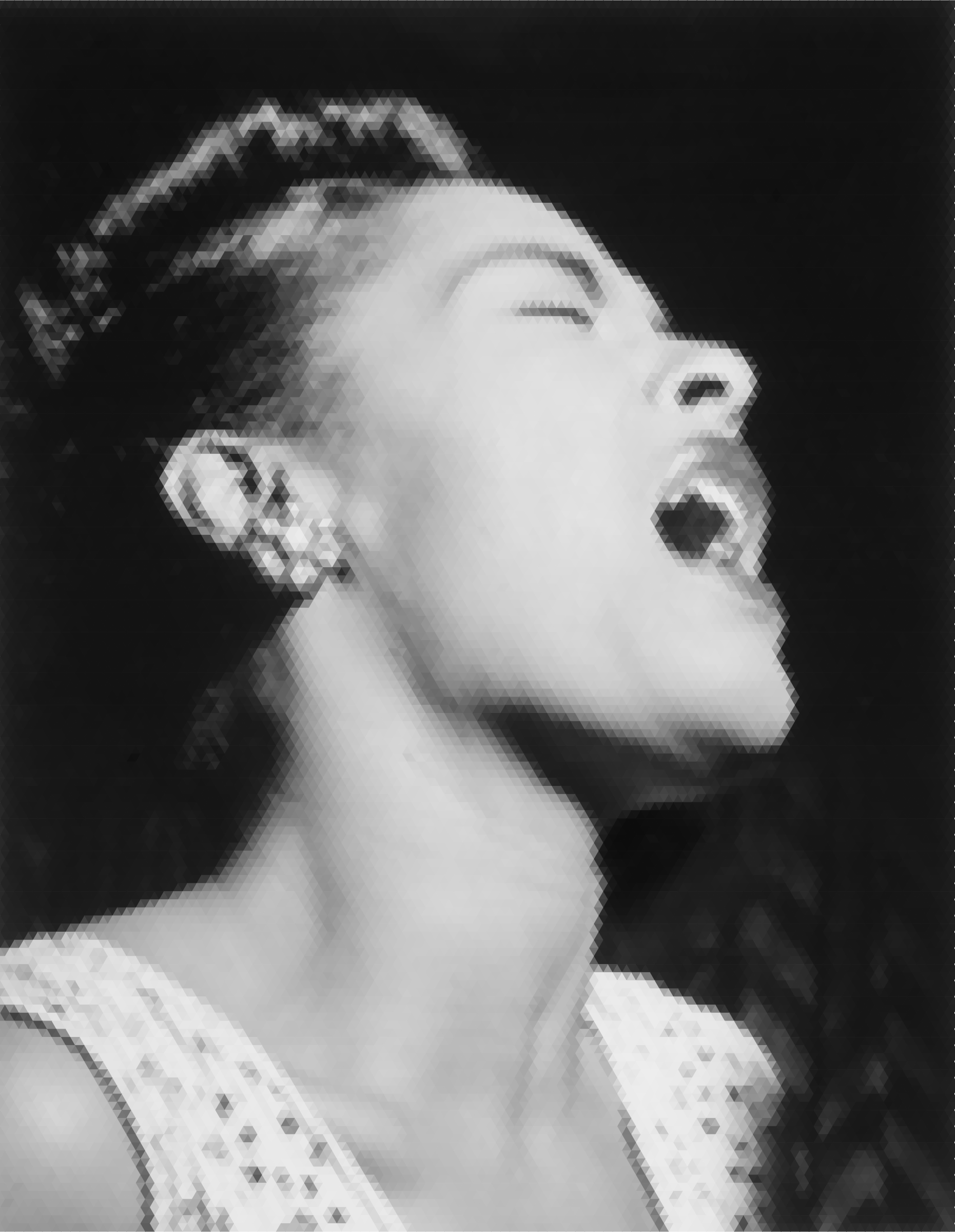 Billie Holiday Mosaic by GDJ