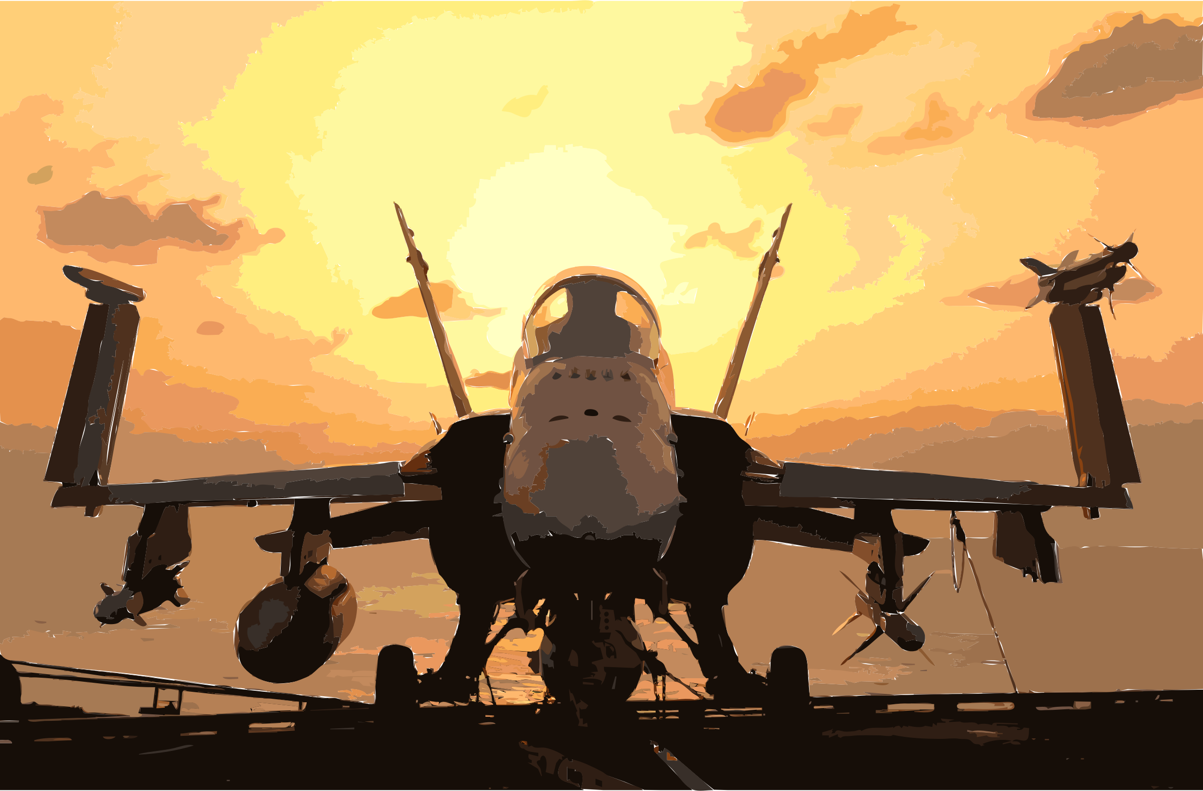 011218-N-9769P-047 F-A-18 With Weapons Ready for Mission by 3w7y6e+cf5zo76jvomsg