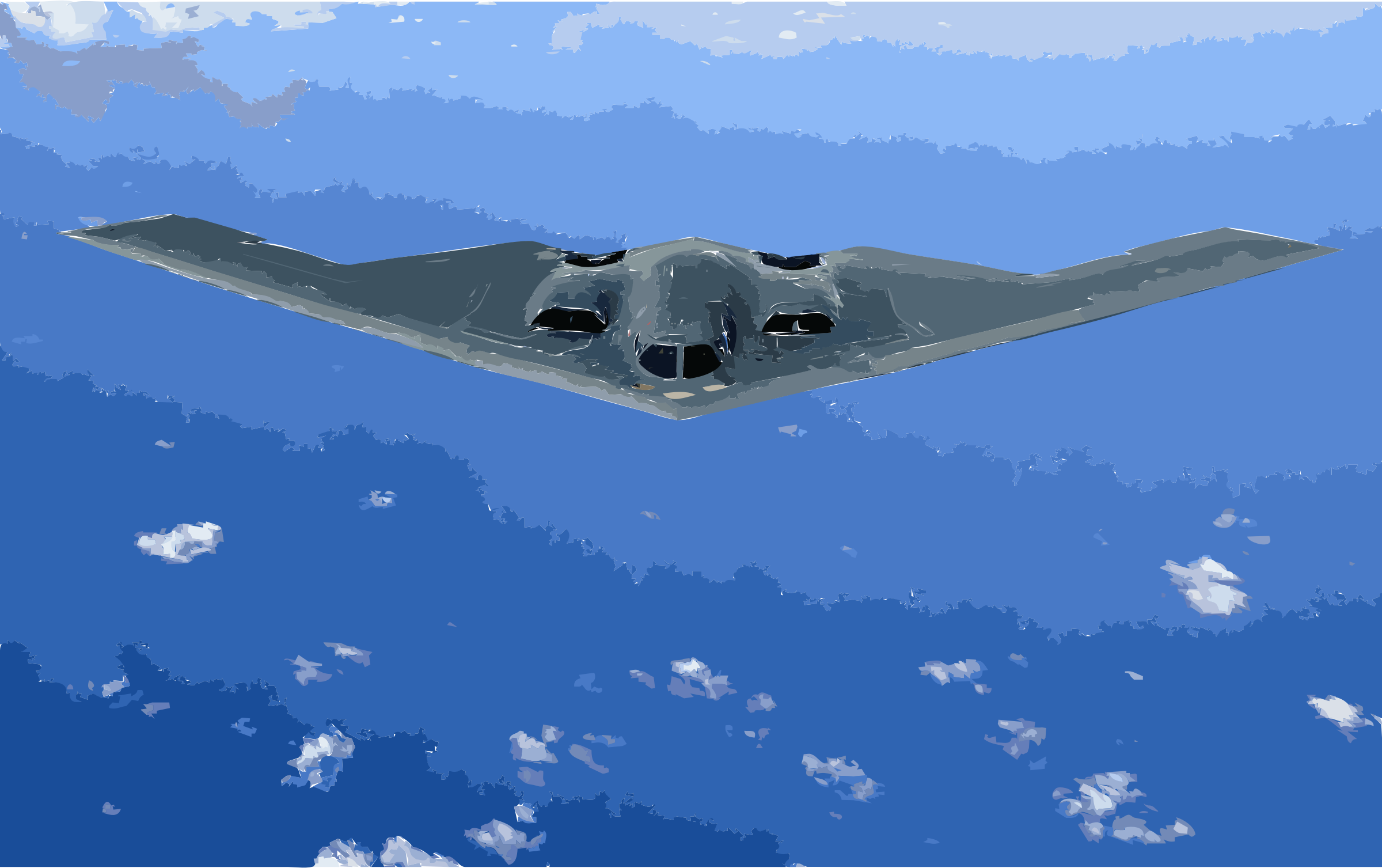 B-2 Spirit original by 3w8x8j+ekad9if2mkux4