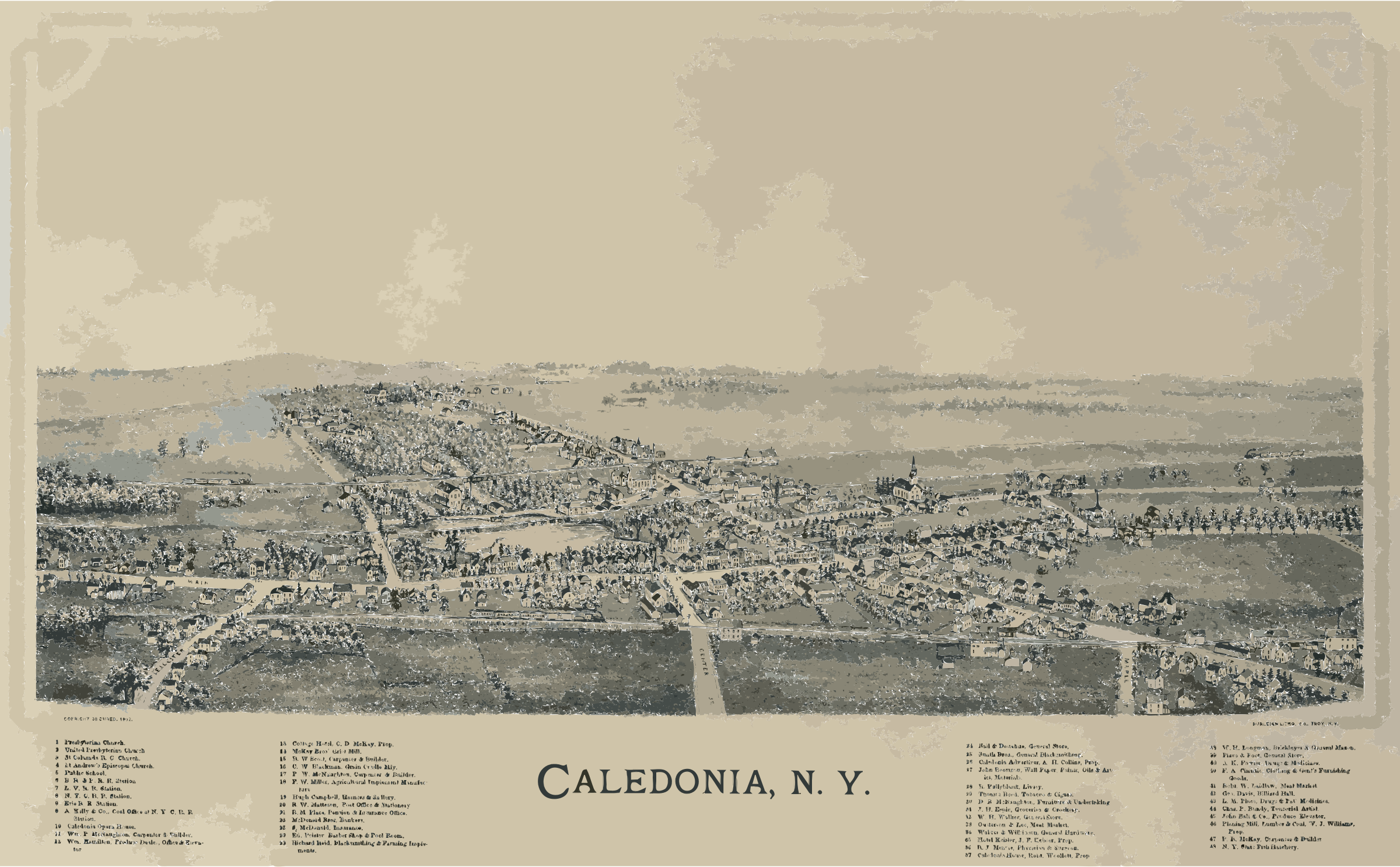 Caledonia, New York aerial2 by 3wd1se+6bgm5p5swgai8