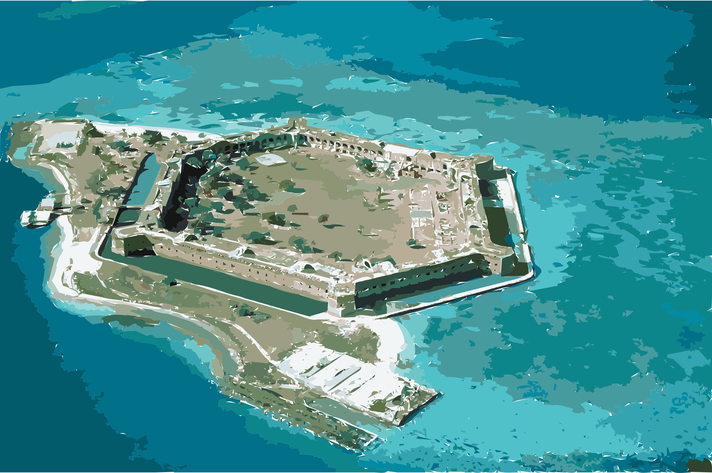 Fort-Jefferson Dry-Tortugas by 3wdob5+5vzcyh4n9vvo8