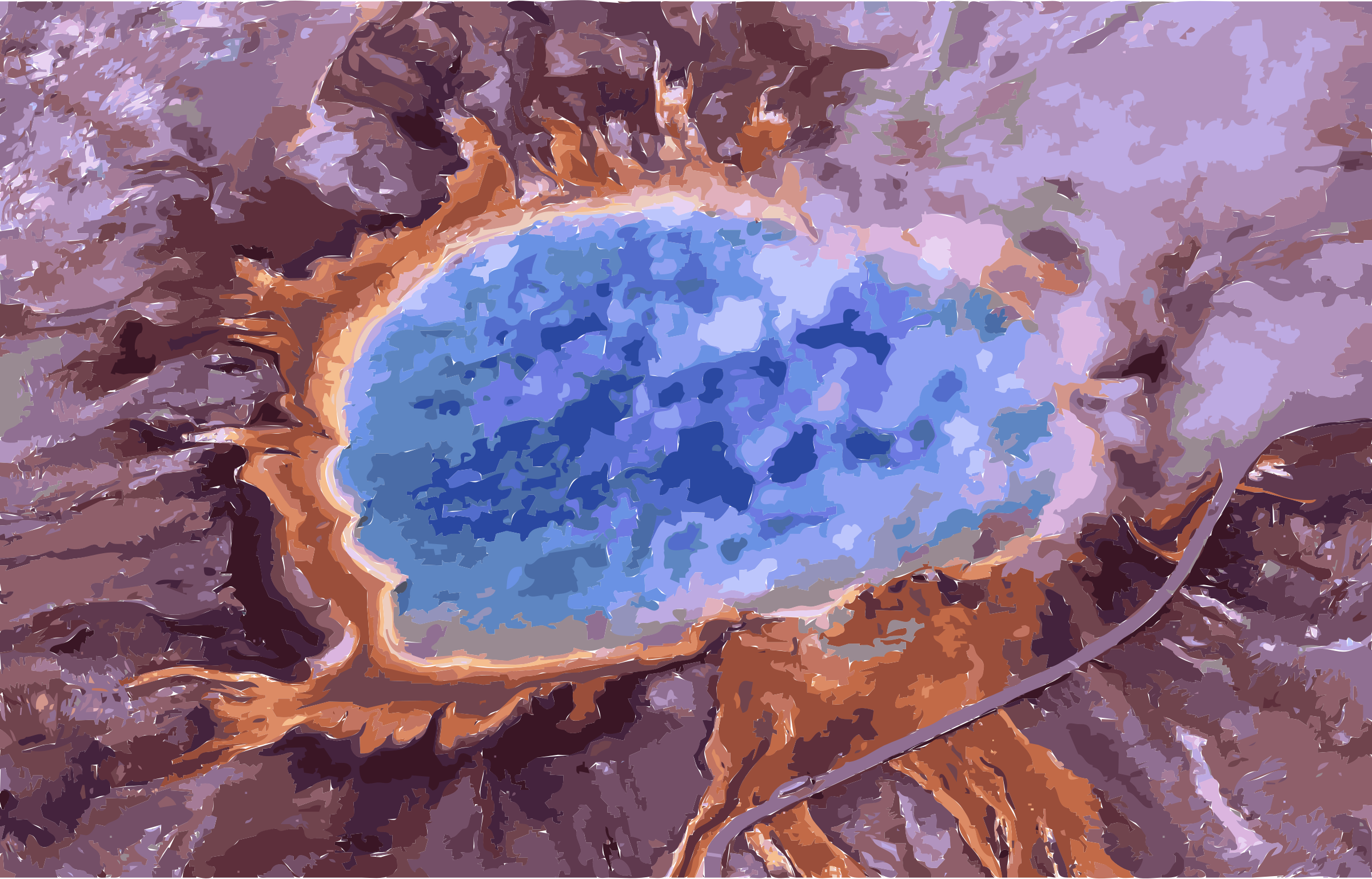 Grand prismatic spring by 3we2nn+8w9uc0fun68aw