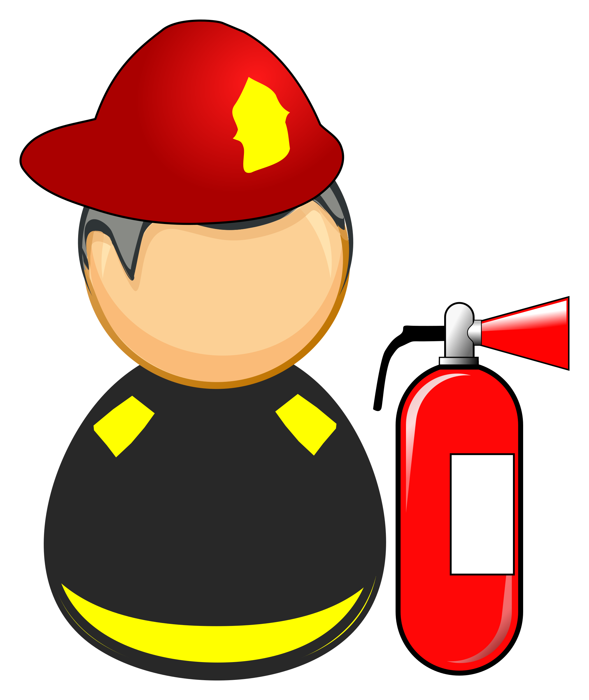 First responder - firefighter by Juhele