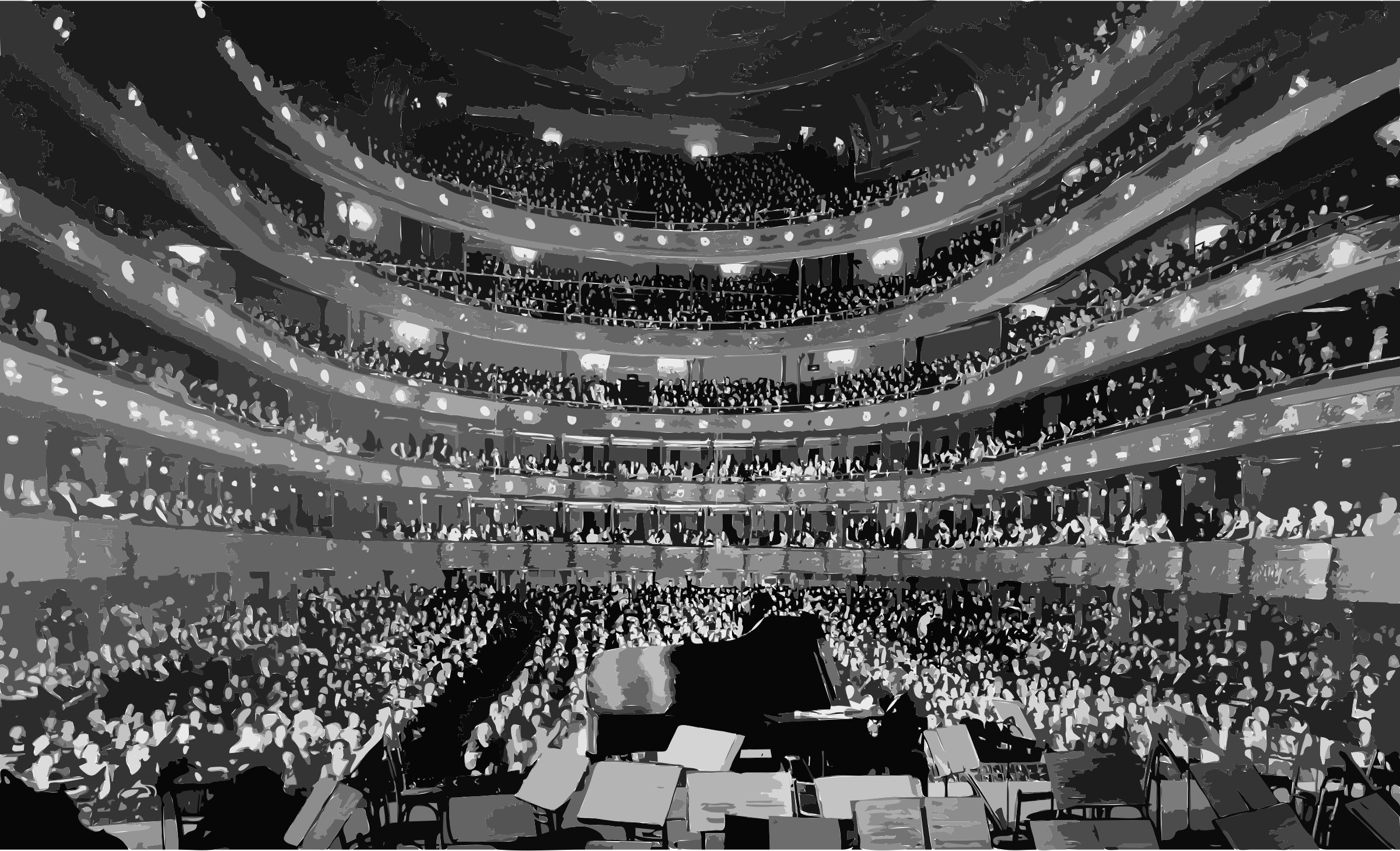 Metropolitan Opera House, a concert by pianist Josef Hofmann - NARA 541890 - Edit by 3we2nn+8w9uc0fun68aw