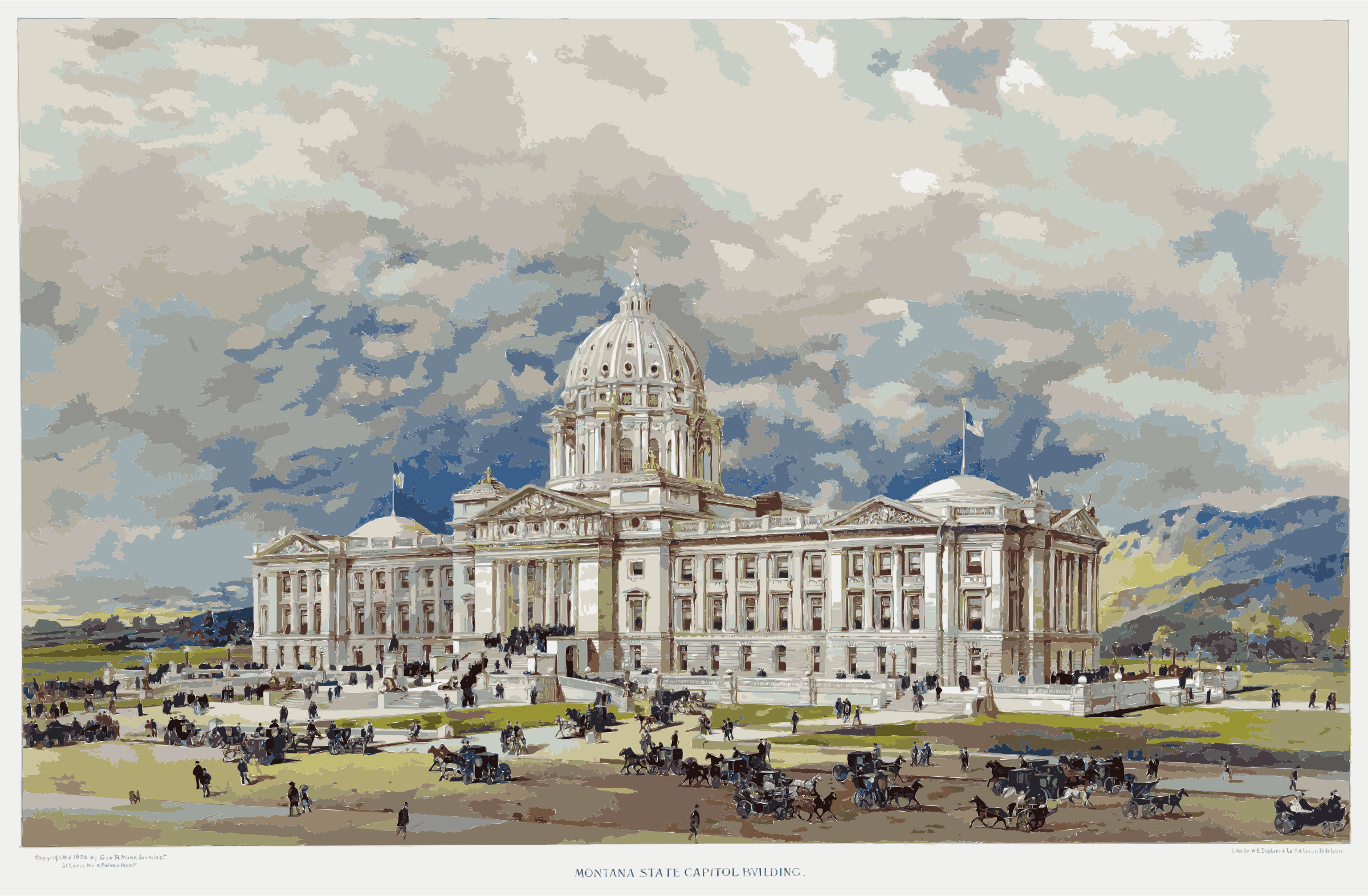 Montana state capitol 2 by 3we2nn+8w9uc0fun68aw